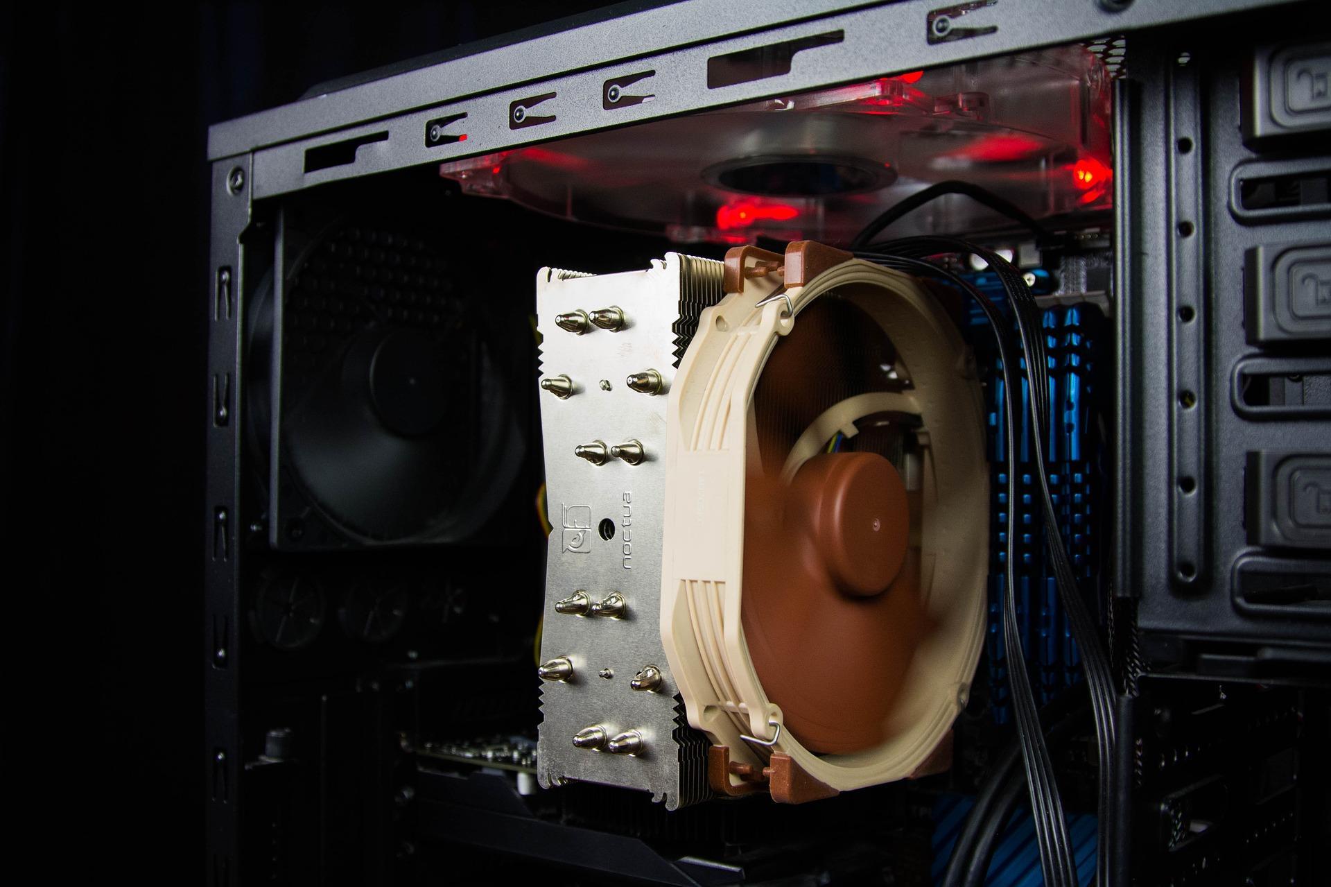 Похищать данные сПКможно, анализируя вибрации вентиляторов внутри
