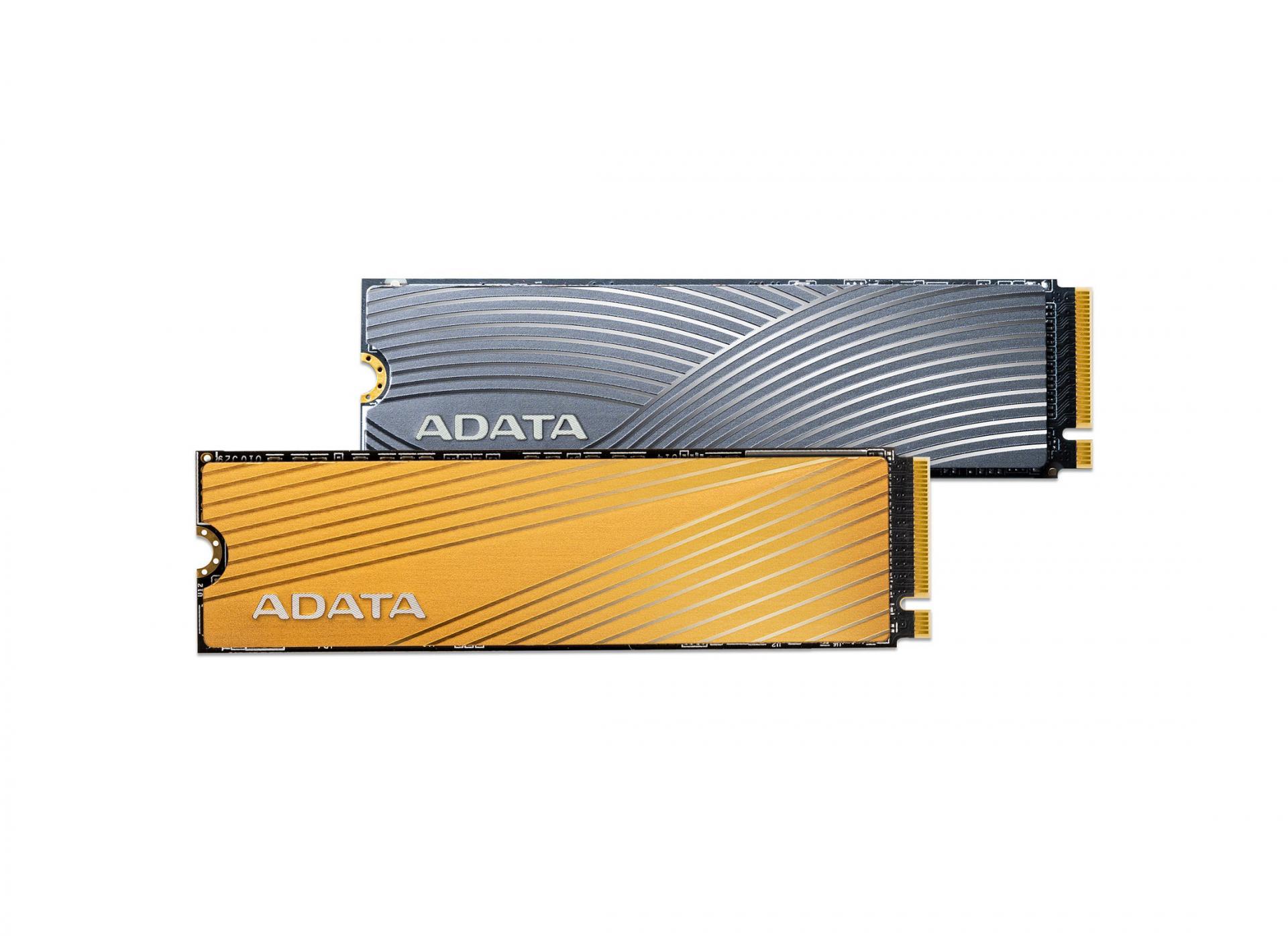 SSD Falcon иSwordfish отADATA. Оба PCIe Gen3×4 M.2 2280