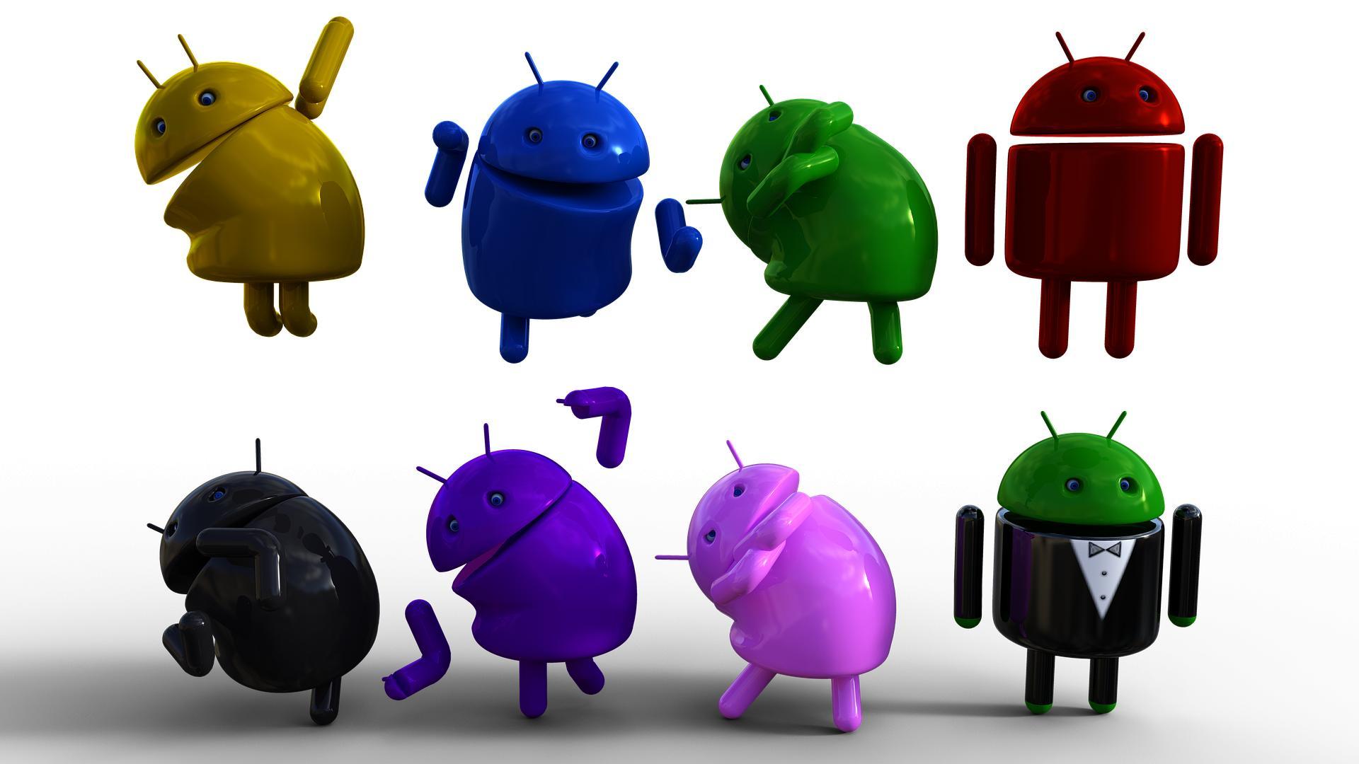 Статистика версий Android наконец весны 2020