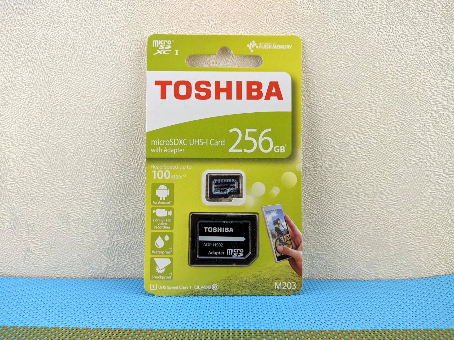 Тест-драйв карты памяти Toshiba THN-M203K2560EA