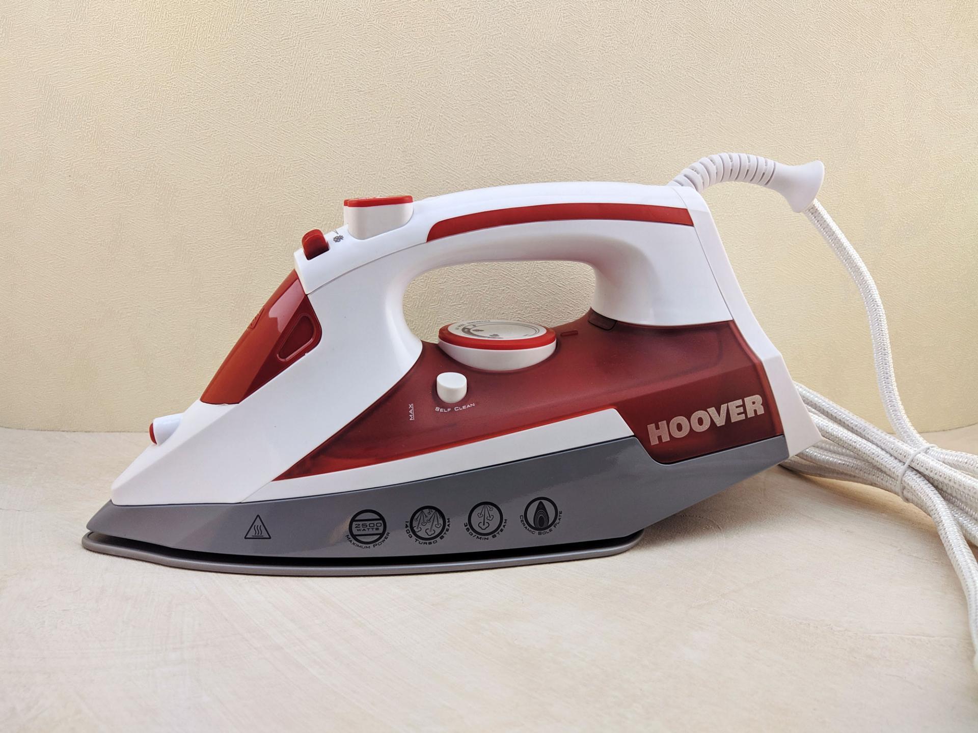 Тест-драйв утюга Hoover TIM 2500