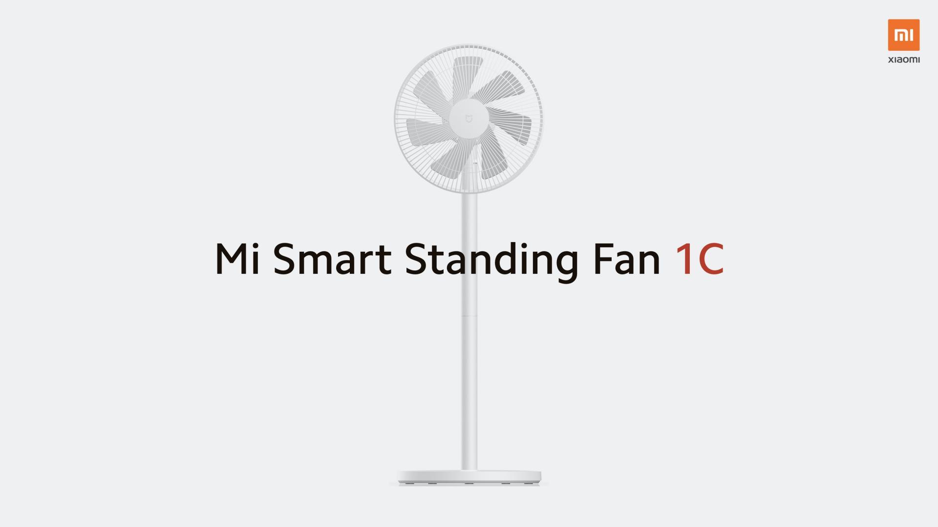 Вентилятор-умница отXiaomi — MiSmart Standing Fan 1C