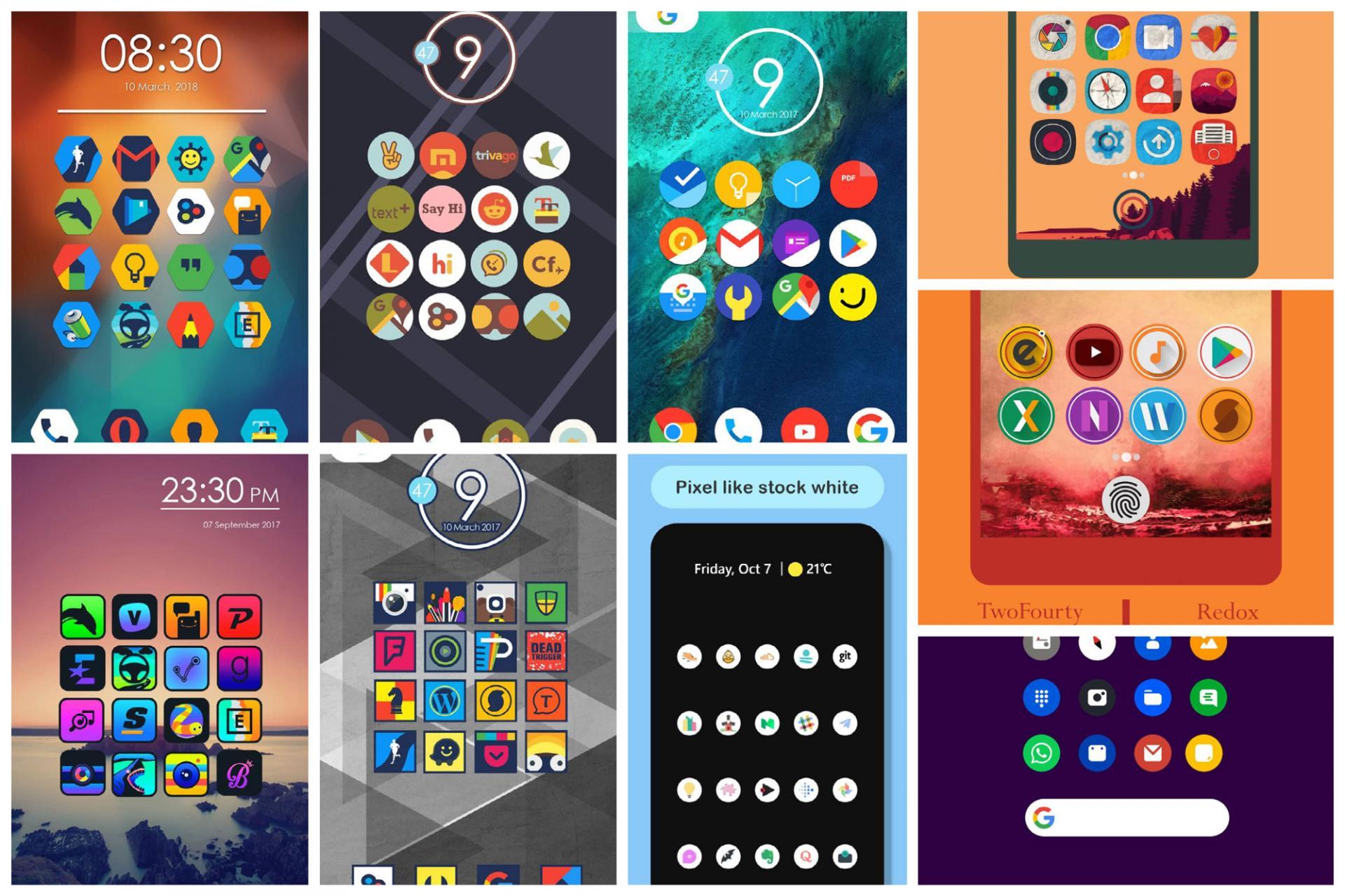 15 наборов иконок для Android, которые вас впечатлят