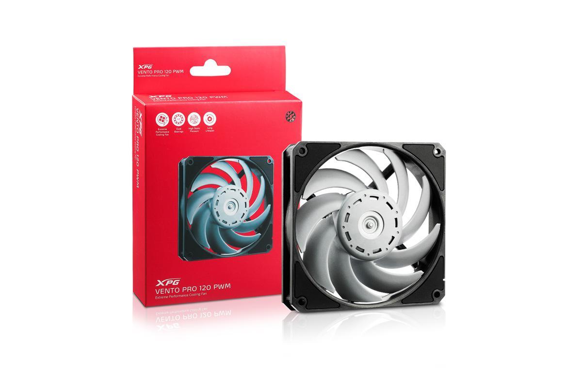 Корпусные вентиляторы ADATA XPG VENTO PRO 120 PWM для тех, кого волнуют воздушные потоки