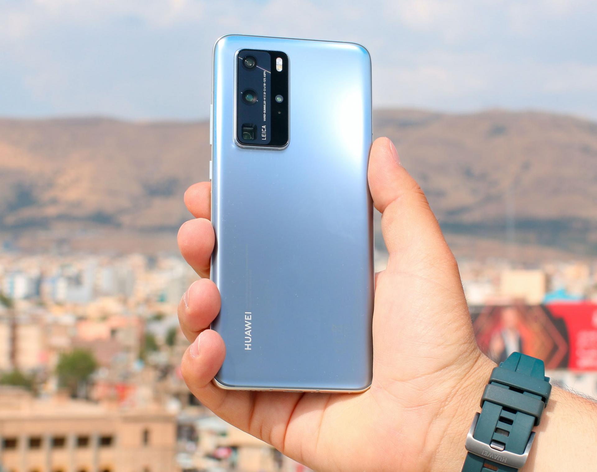 Смартфоны Huawei смогут измерять температуру тела владельца