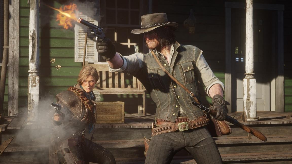 Хакеры взломали Red Dead Redemption 2