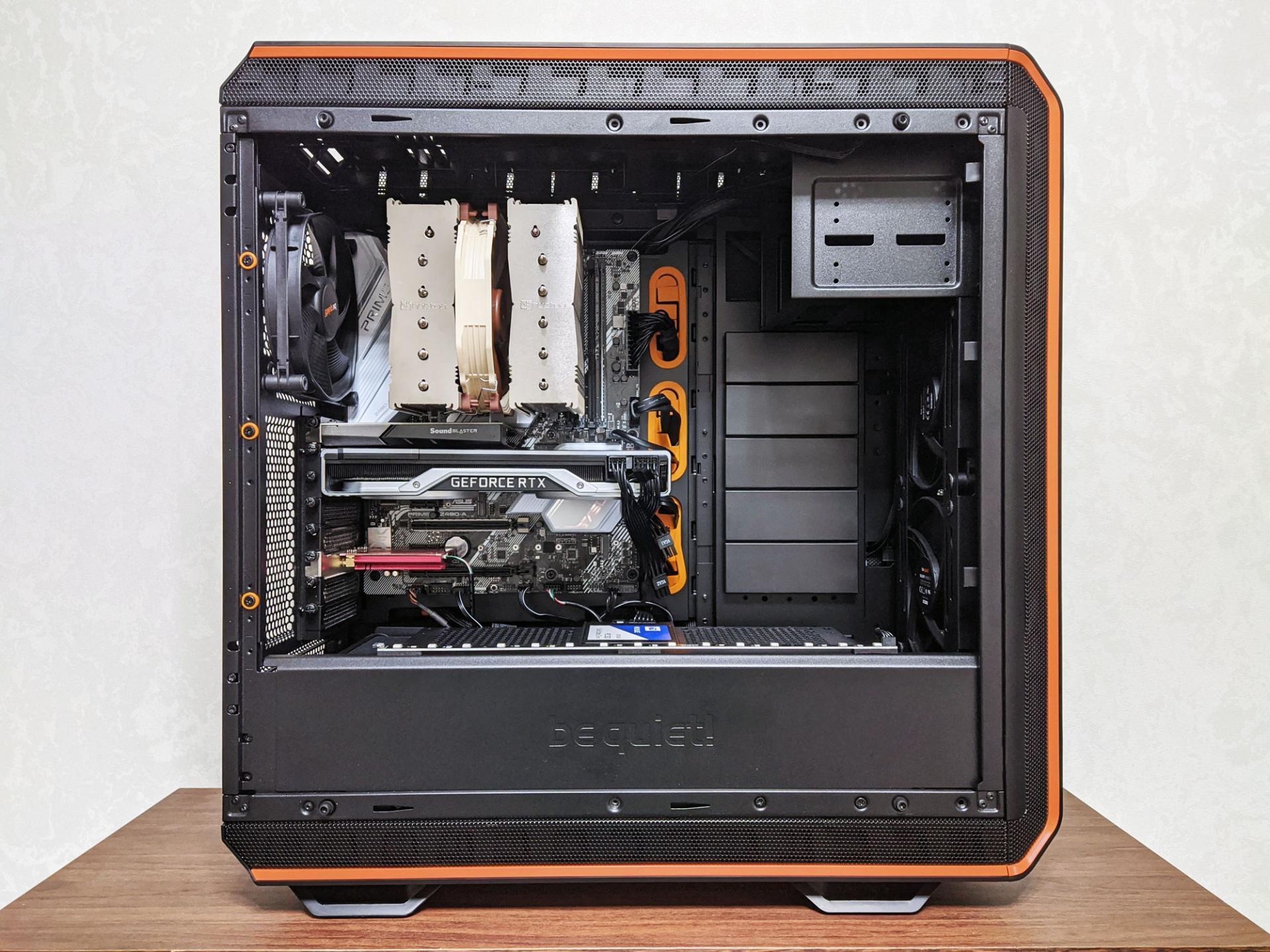 Обзор компьютерного корпуса bequiet! Dark Base 900 Pro rev.2 Orange
