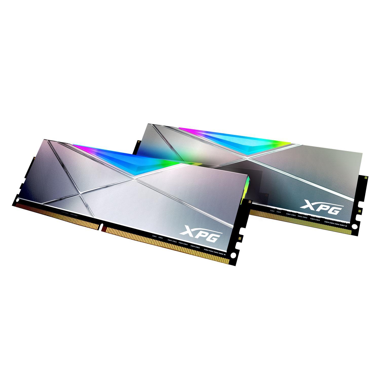 Если вам было мало, тоADATA выпустила ОЗУ SPECTRIX D50 Xtreme DDR4 RGB на5000 МГц