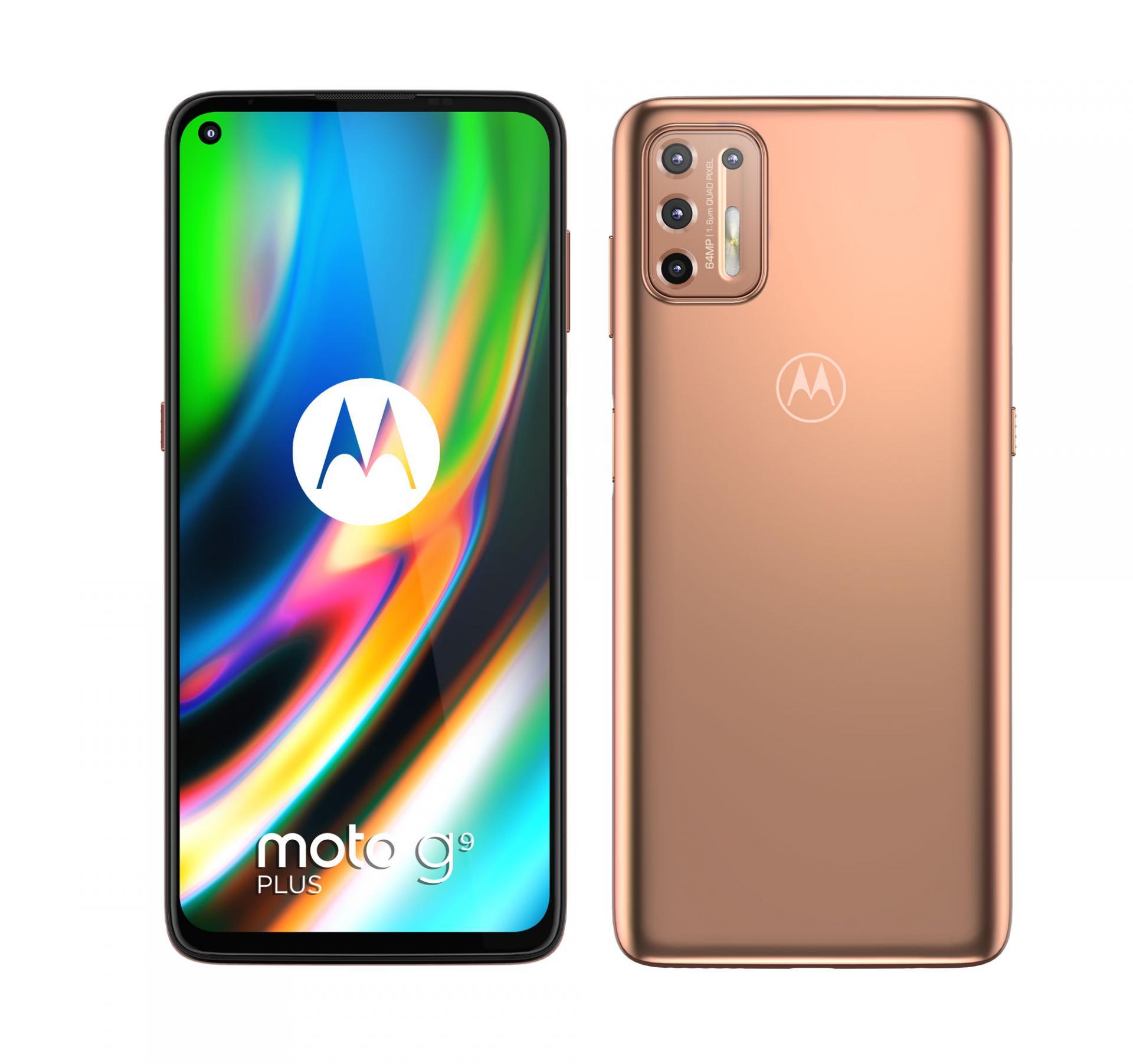 Motorola дополняет линейку Moto интереснойновинкой — G9 Plus