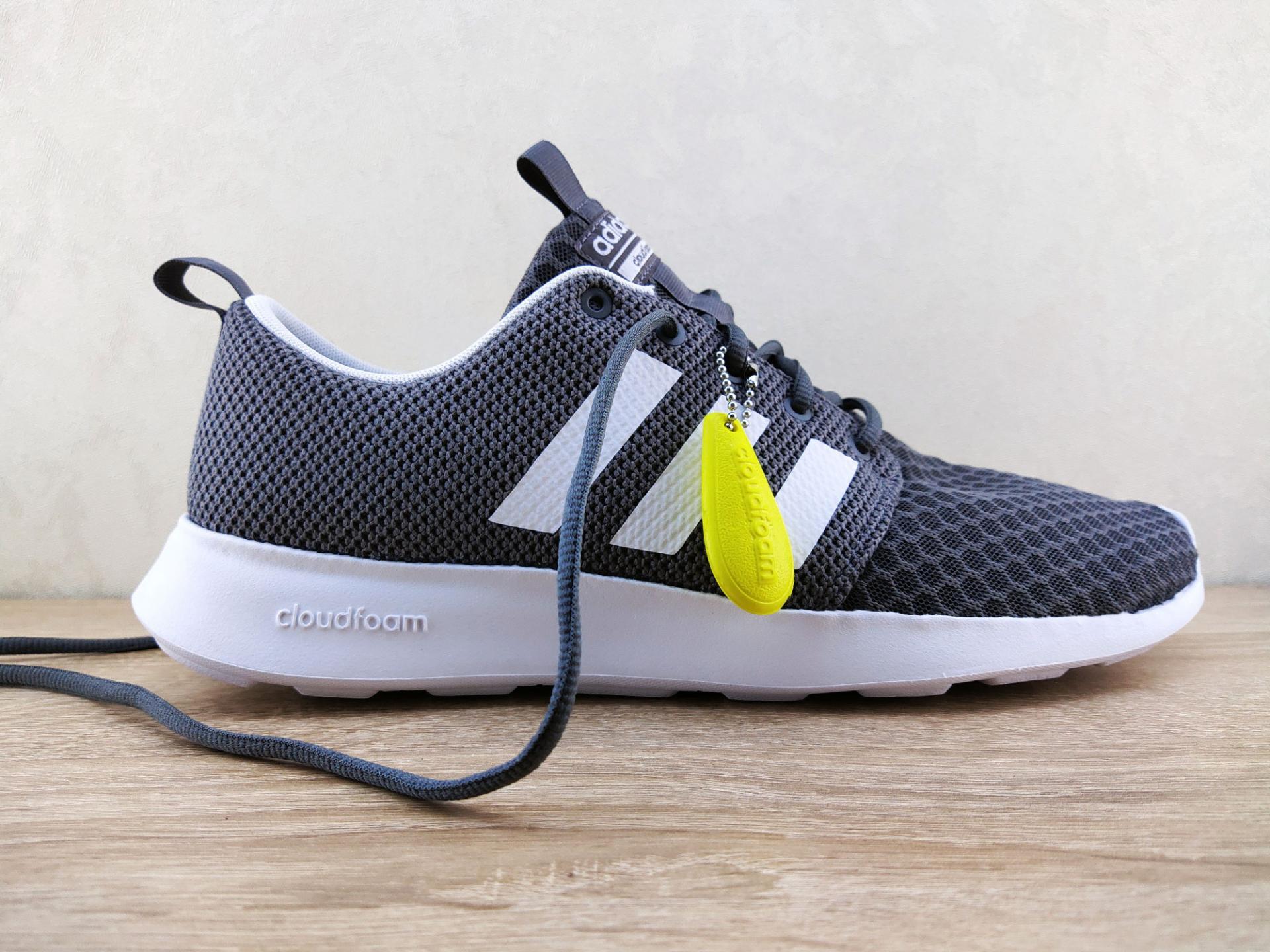 Тест-драйв кроссовок Adidas Cloudfoam SwiftRacer