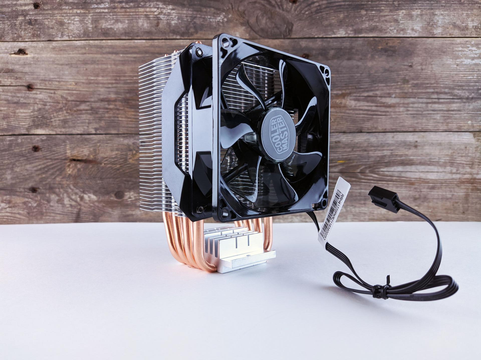 Тест-драйв процессорного кулера Cooler Master Hyper H412R наAMD Ryzen 3 3100