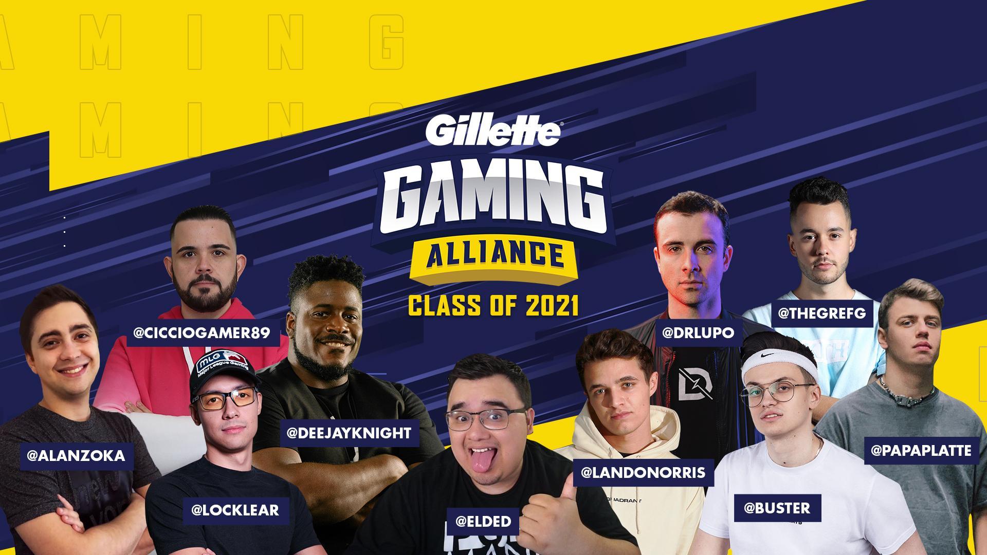 Gillette решила возродить Геймерский альянс
