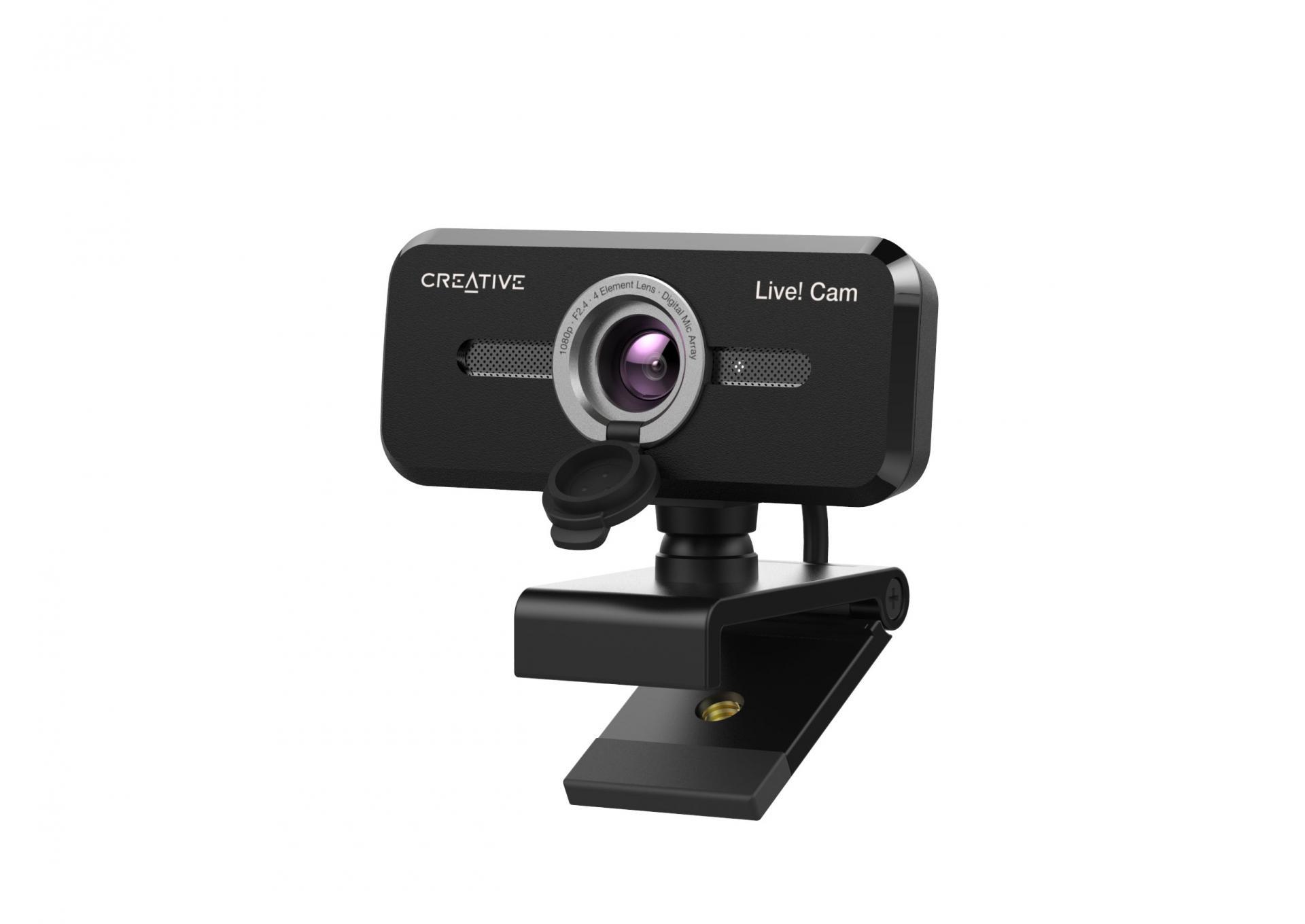 Новые продукты Creative: веб камера Live! Cam Sync 1080p V2 игарнитура SXFI AIR GAMER