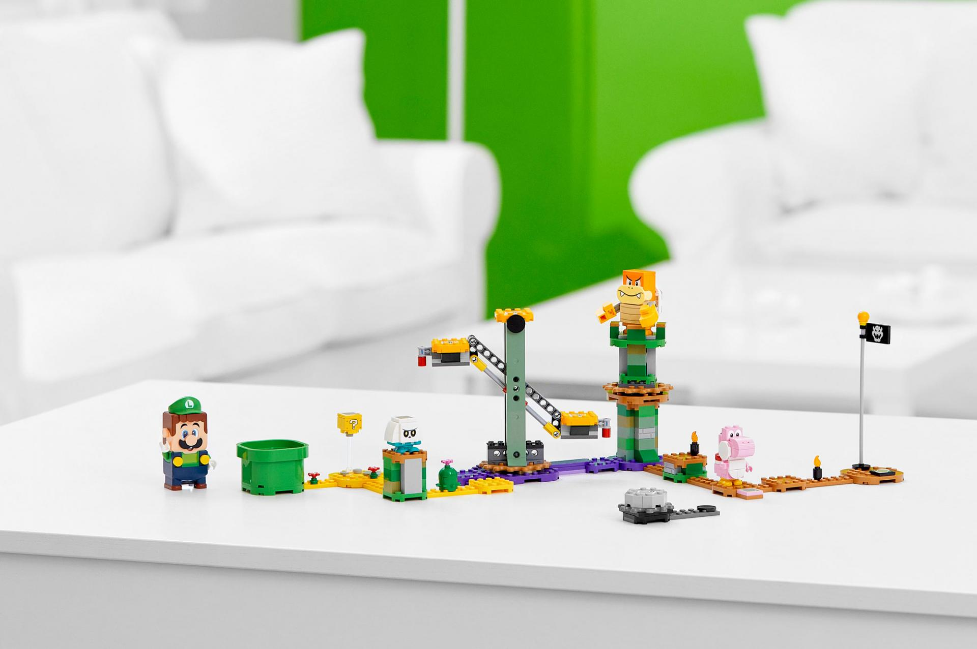 Новый набор LEGO Super Mario сЛуиджи поступает впродажу