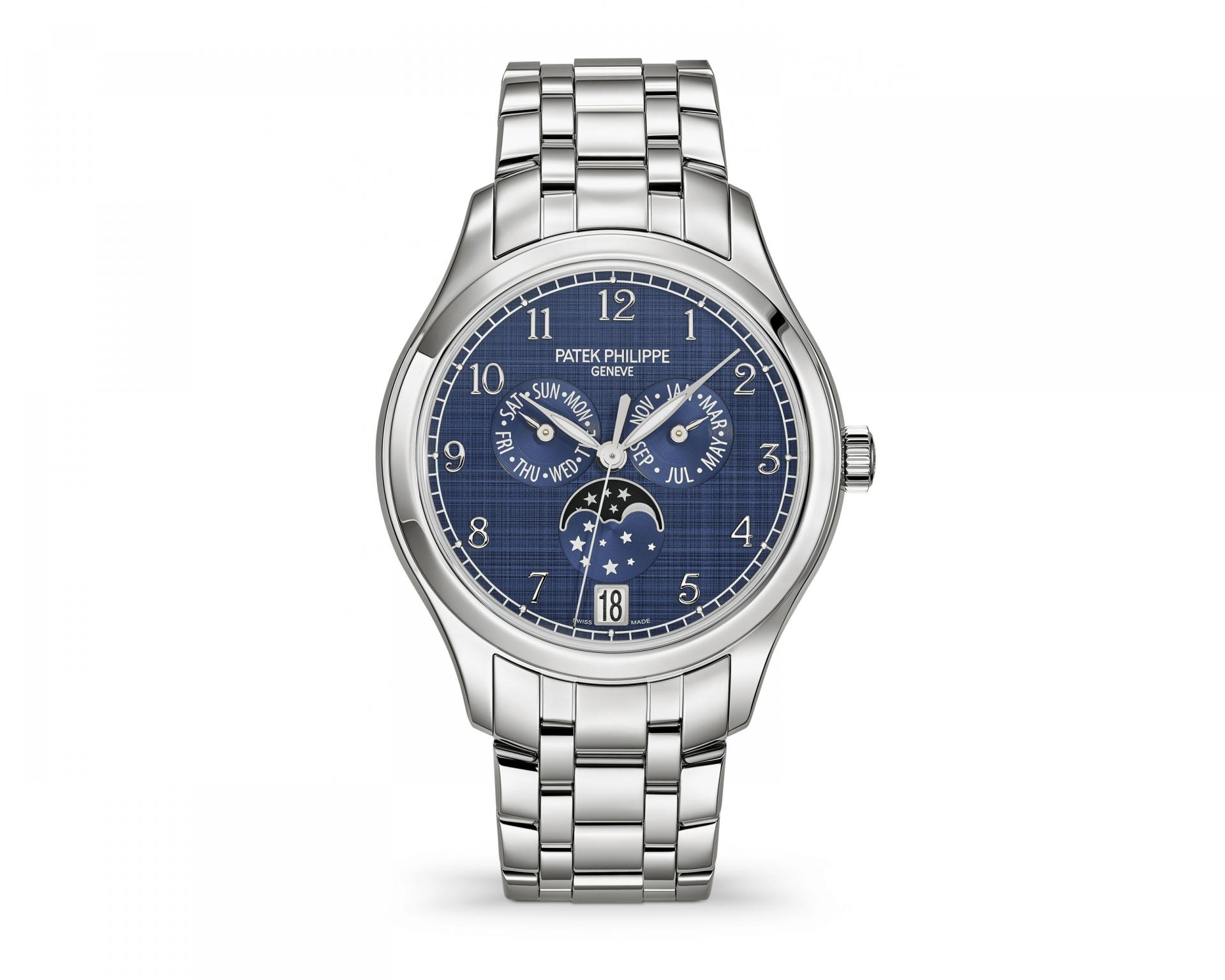 Patek Philippe анонсирует новые часы 4947 с годовым календарём