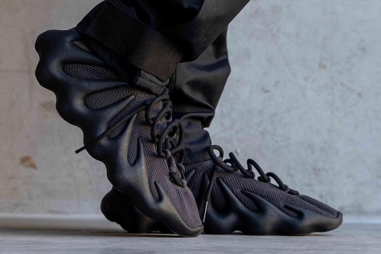 Первые фото необычных Adidas YEEZY 450 «Тёмный сланец»