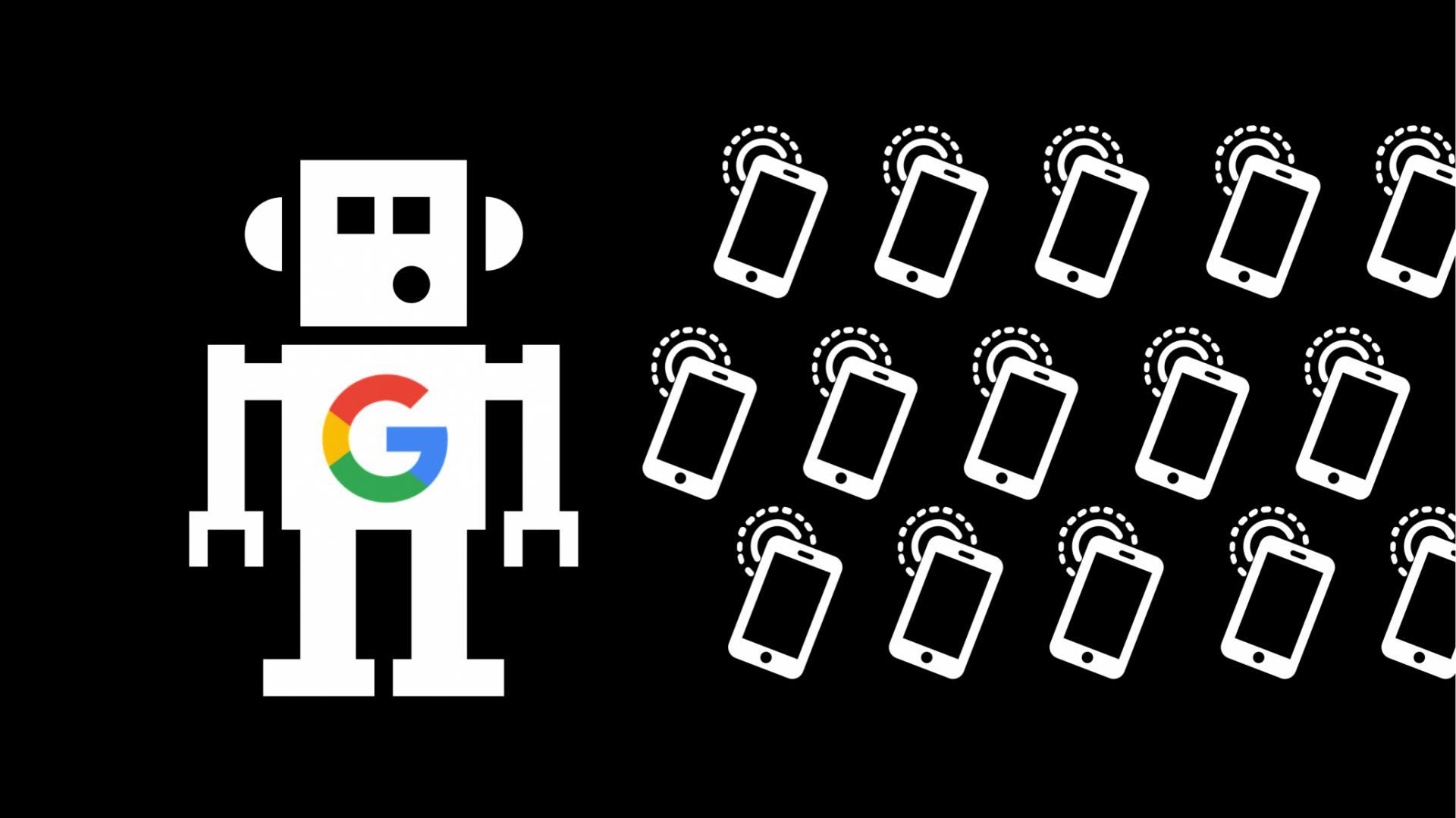Смартфон наAndroid отправляет освоём владельце в20 раз больше данных, чем iPhone