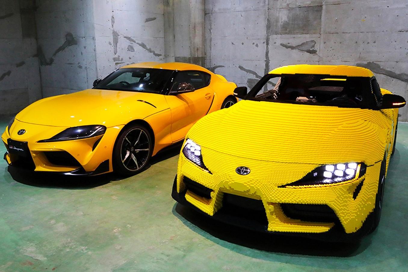 Из LEGO собрали копию Toyota GR Supra