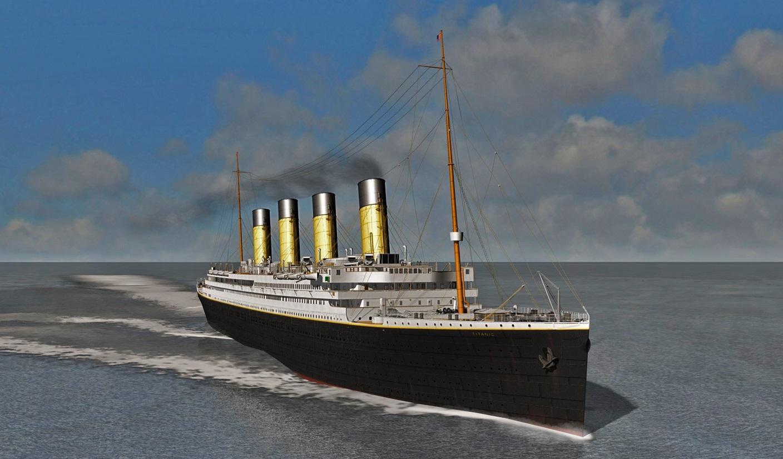 В оригинальную Mafia добавили мод с Титаником. Есть даже сюжетная линия