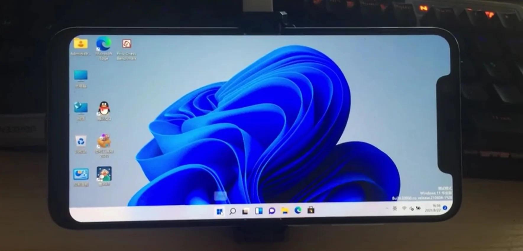 Windows 11 запустили насмартфоне Xioami Mi8