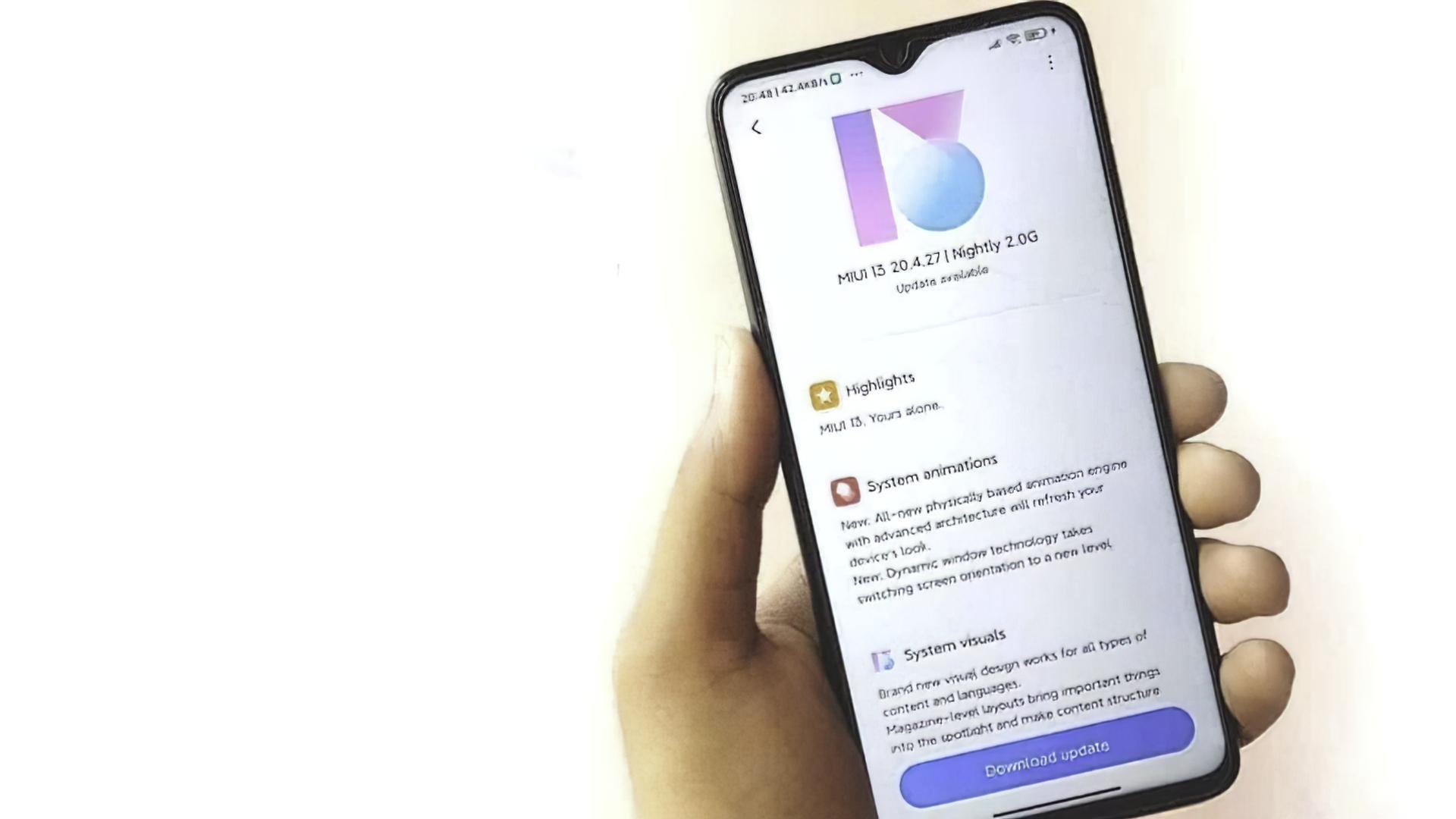 Xiaomi удалила системное приложение обновленияMIUI изпрошивки