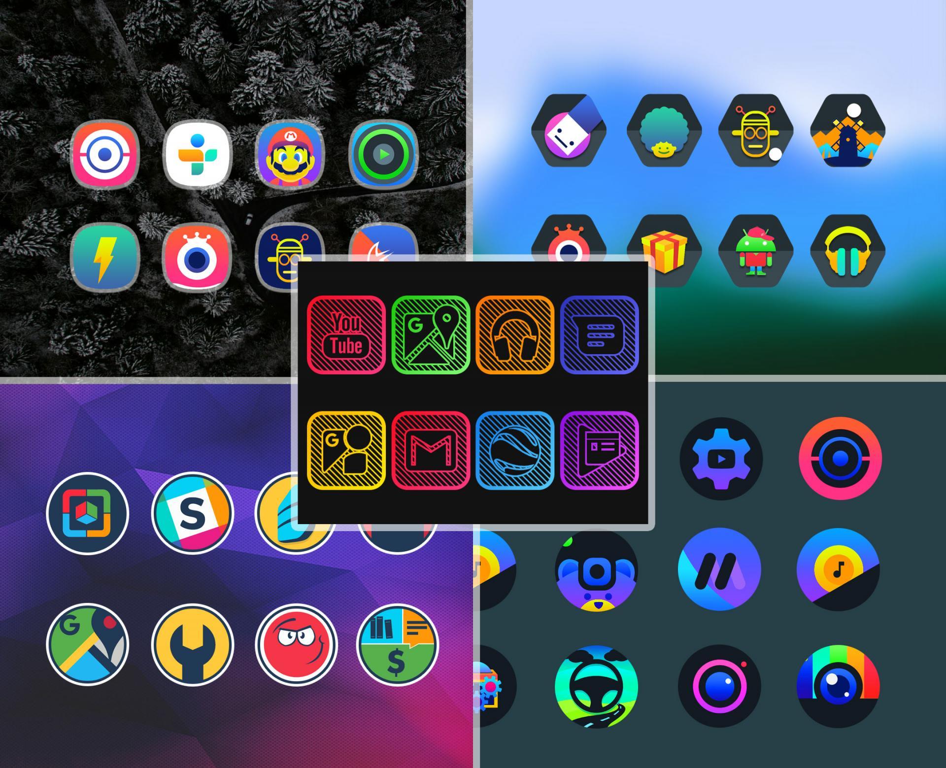 Бесплатно: 15 наборов профессиональных иконок для изменения внешнего вида Android
