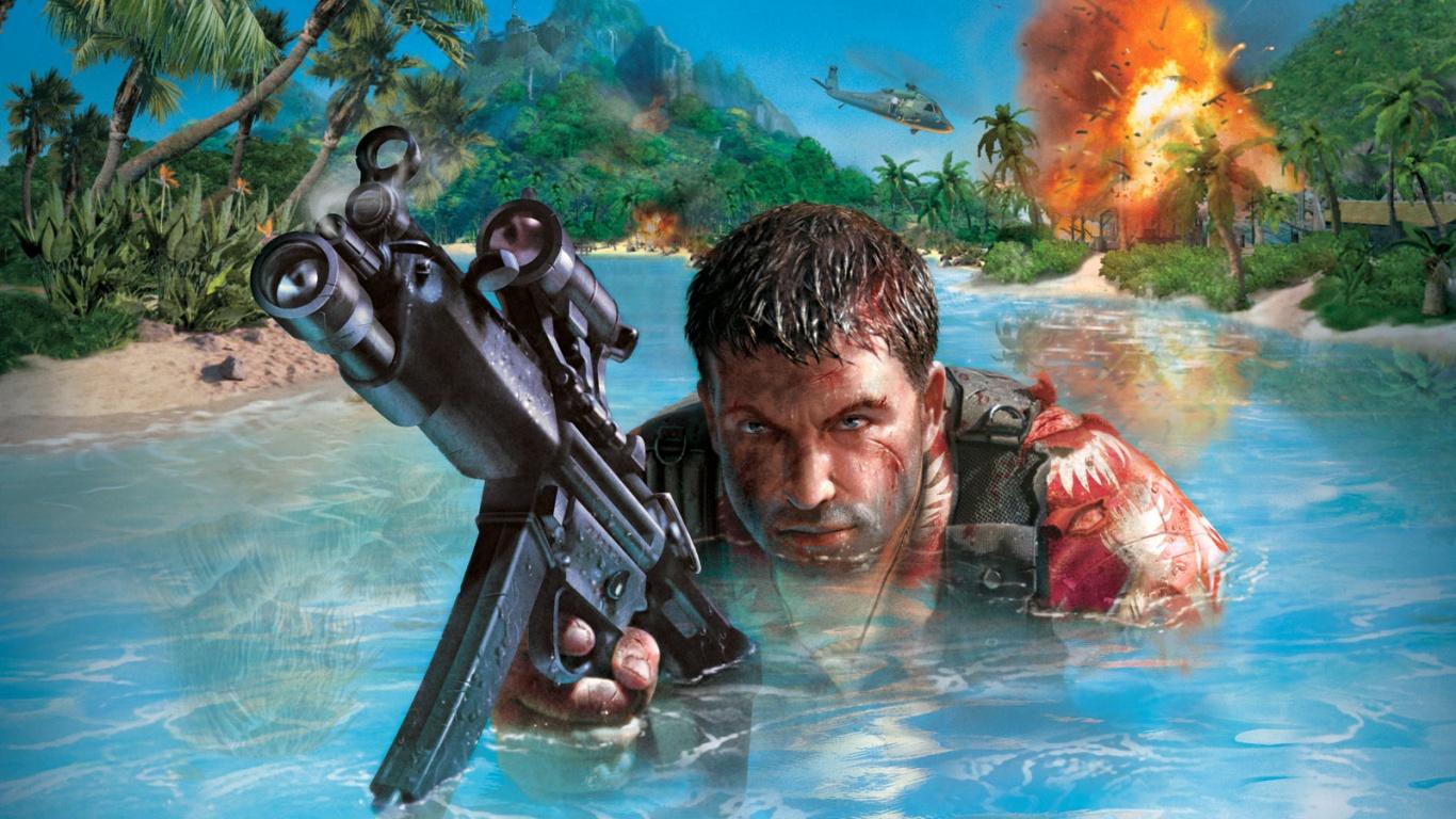 Энтузиаст перенес первую Far Cry на движок Crysis
