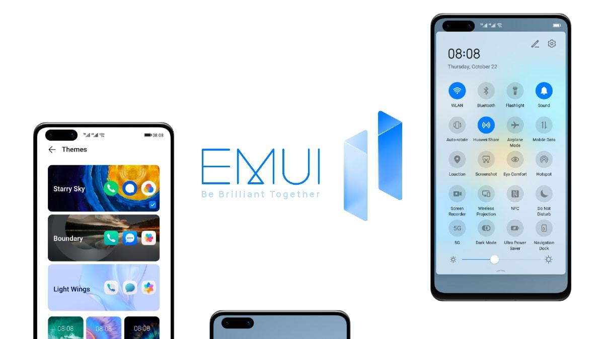Huawei официально осроках обновления доEMUI 11