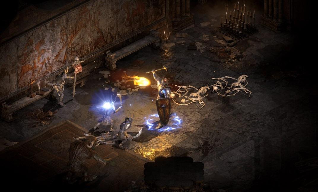 Всети появилось 6 минут геймплея ремейка Diablo 2