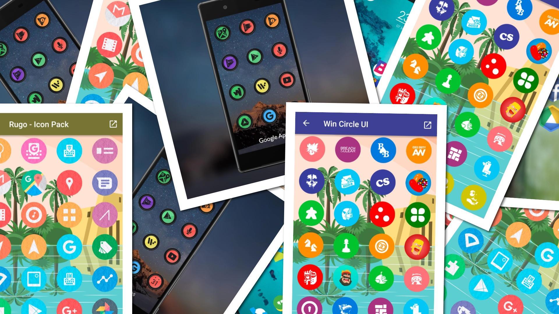 Бесплатно устанавливаем платные иконки для Android. 17 наборов