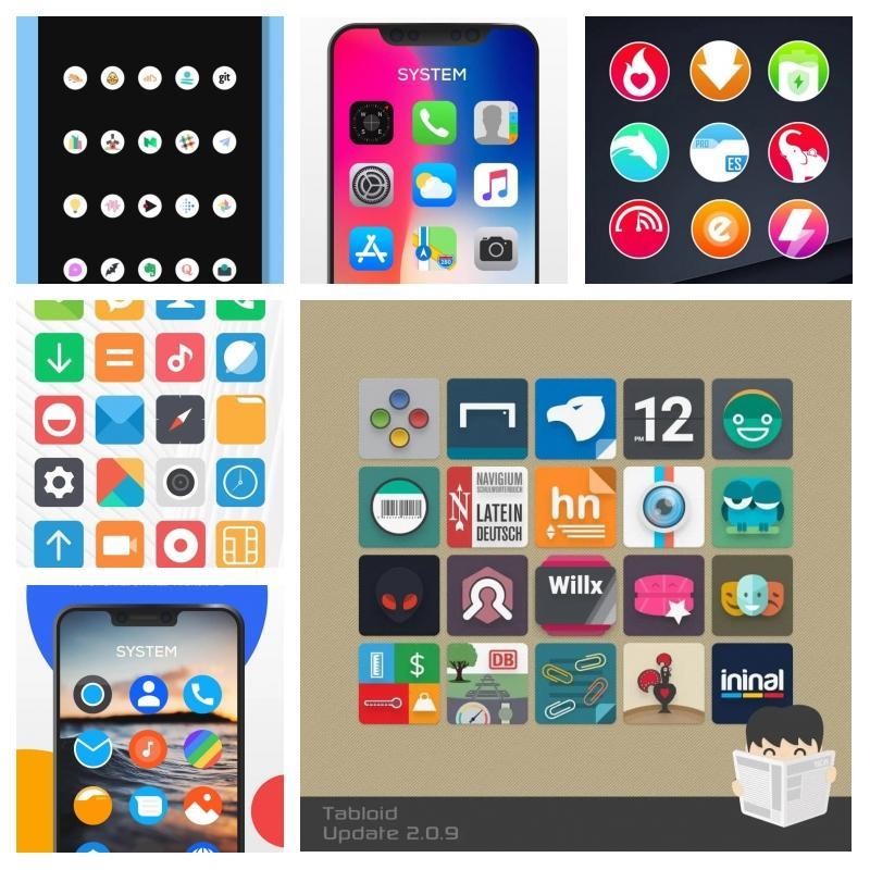 Экономим наAndroid-кастомизации: 30 наборов платных иконок бесплатно