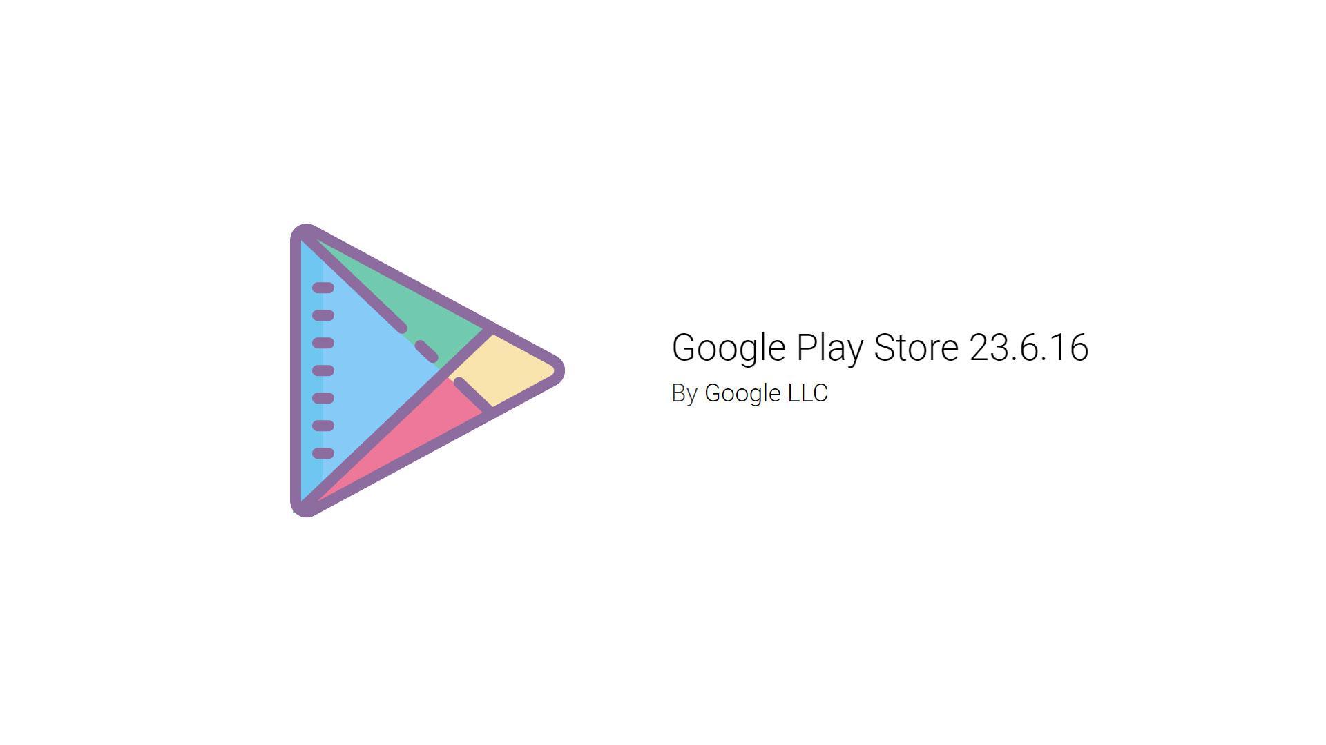 Google Play Store обновился доверсии 23.6.16. Скачиваем
