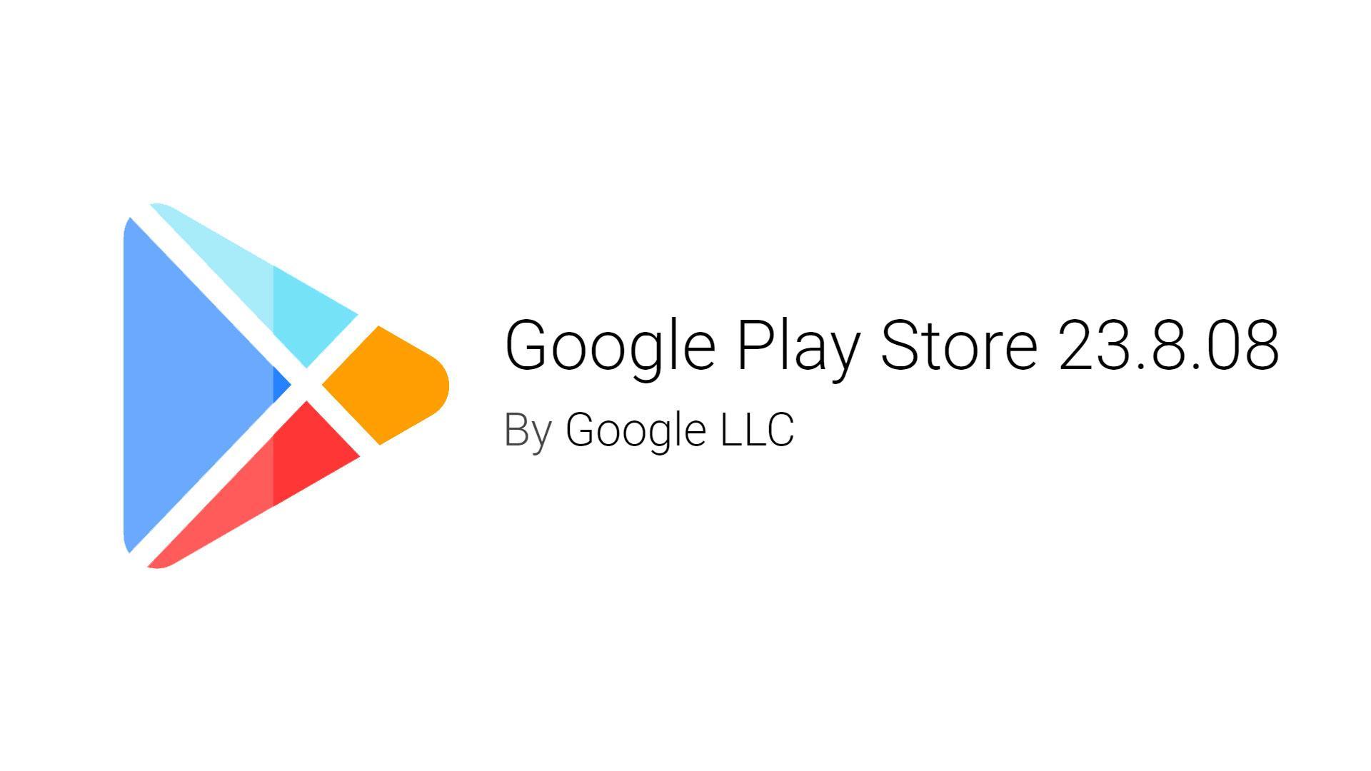 Google Play Store обновился доверсии 23.8.08. Скачиваем иустанавливаем