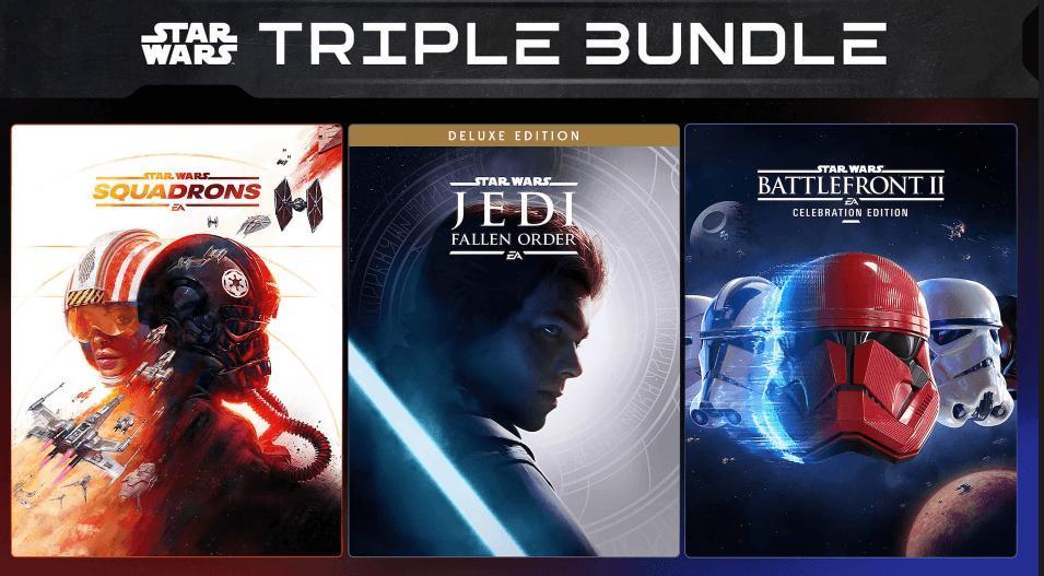 Получите последние 3 части Star Wars покрайне выгодной цене вEGS