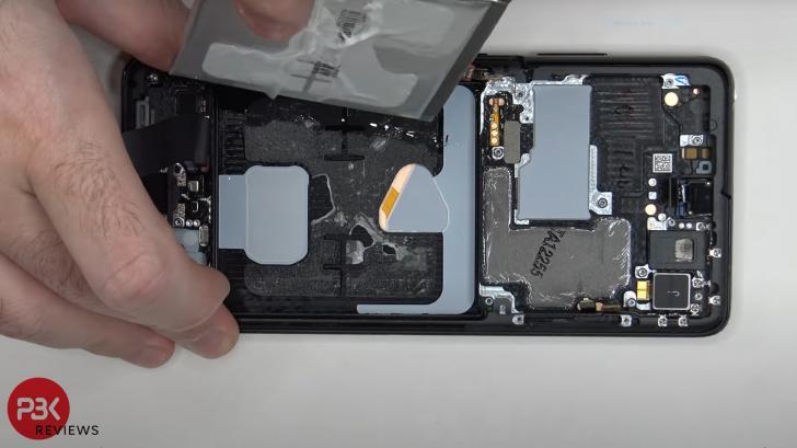 Ремонт Samsung Galaxy S21 Ultra: больше невсегда лучше