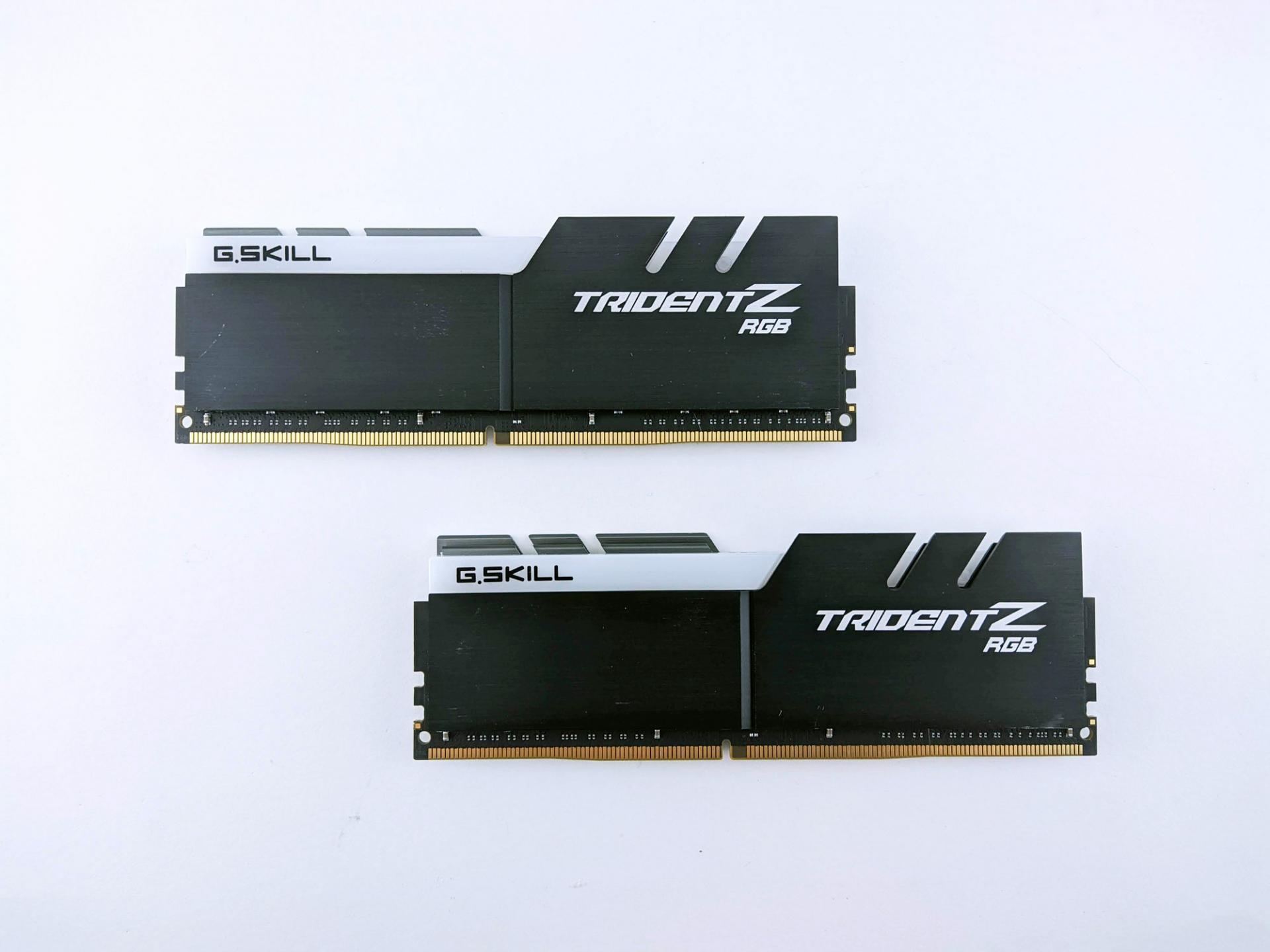Тест-драйв оперативной памяти G.SKILL Trident ZRGB F4-4000C16D-32GTZR