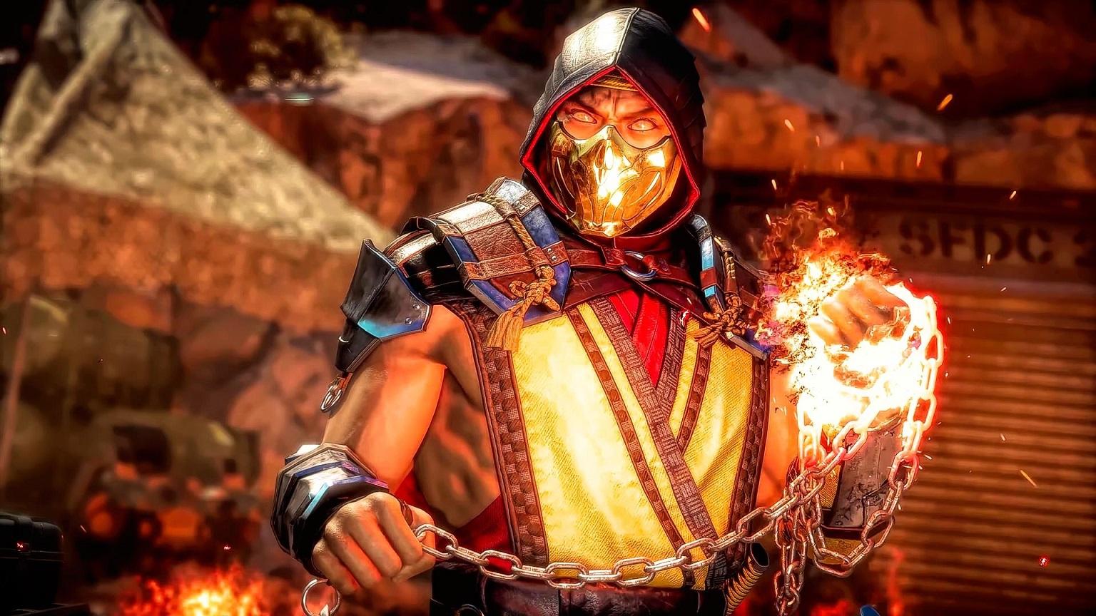 В Mortal Kombat 11 теперь доступен вид от 1 лица