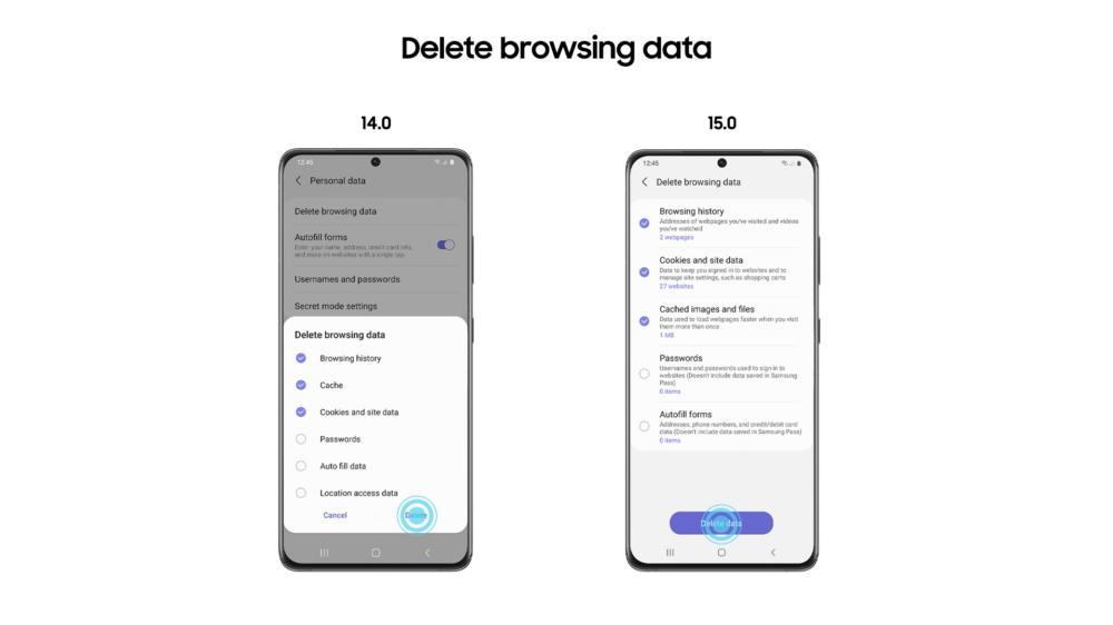 Браузер Samsung Internet обновился до15 версии, пока бета