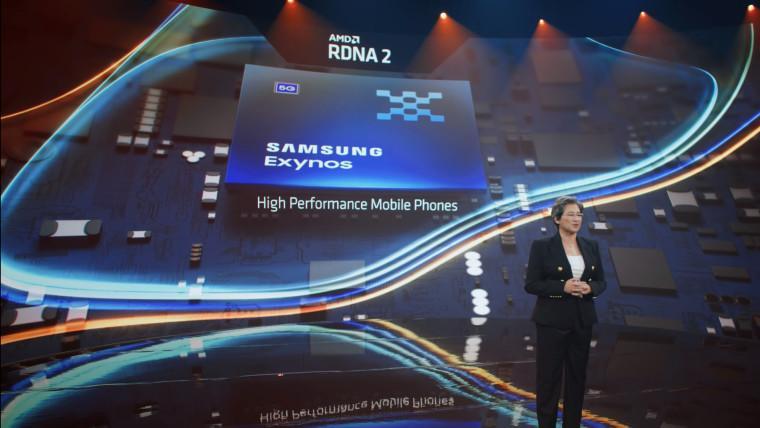 Samsung Exynos сграфикой AMD рвёт прочие устройства. Ноэто неточно