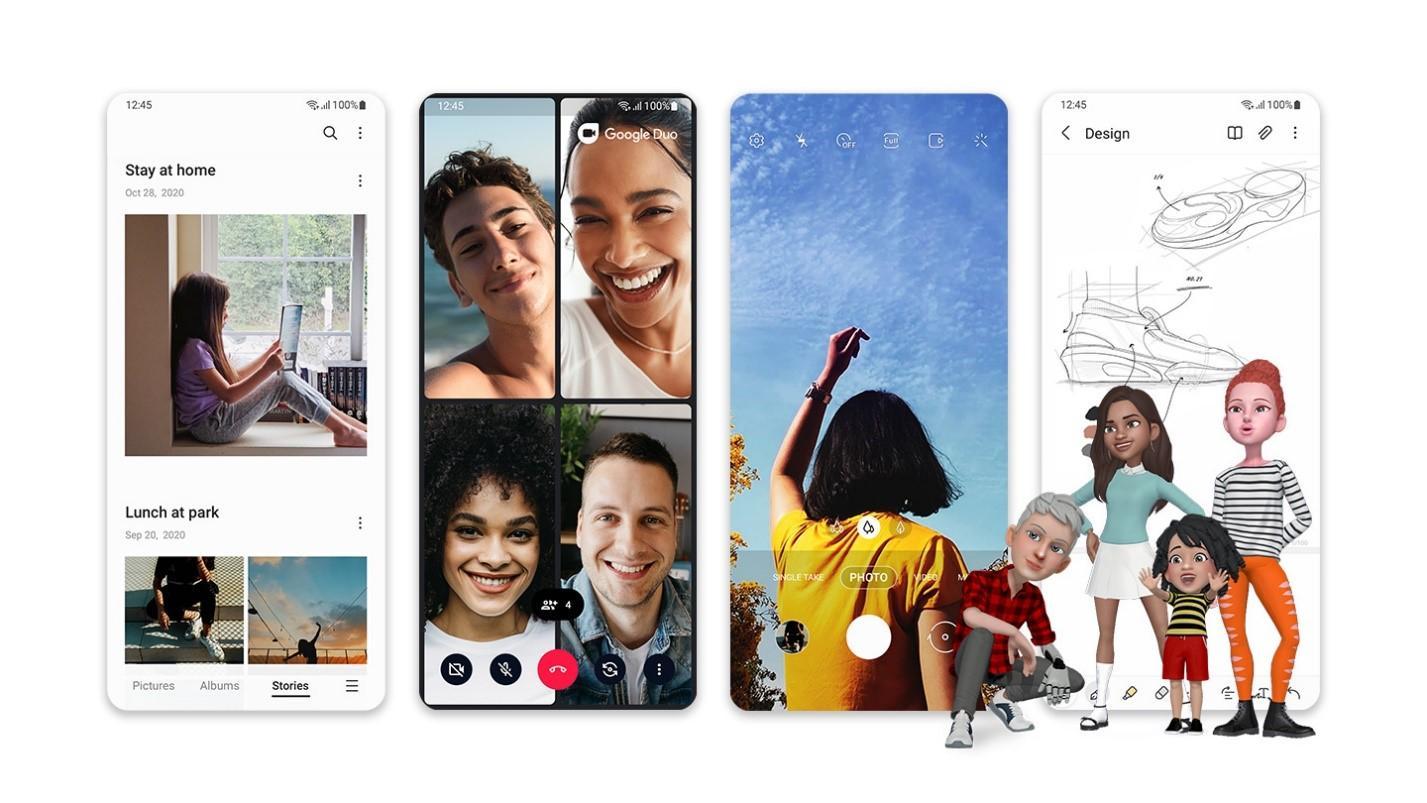 Samsung One UI3.1.1 выйдет вместо One UI3.5