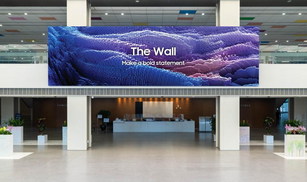 Телевизор The Wall откомпании SAMSUNG вышел вобновленной версии