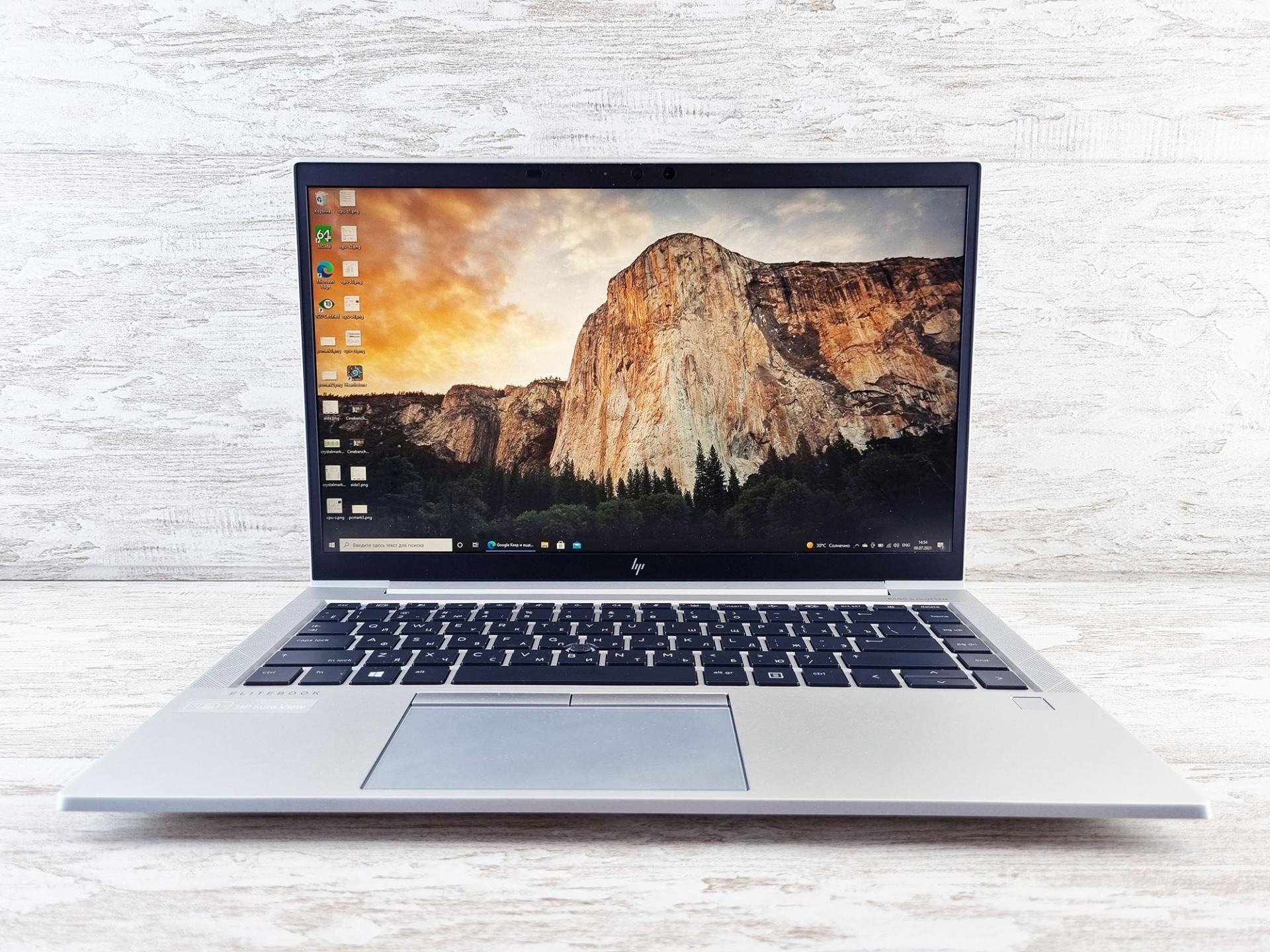 Тест-драйв ноутбука HPElitebook 845 G7