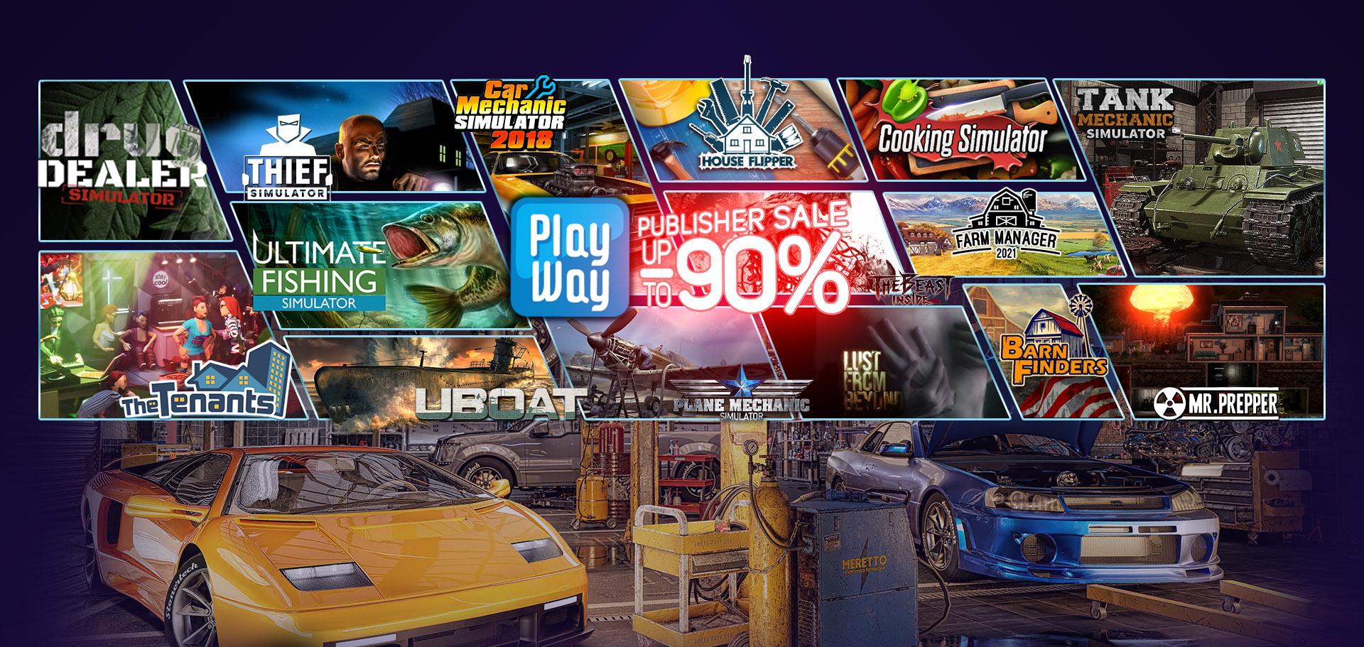 ВSteam началась распродажа игр вжанре симулятор. Скидки до90%,цены от16 рублей