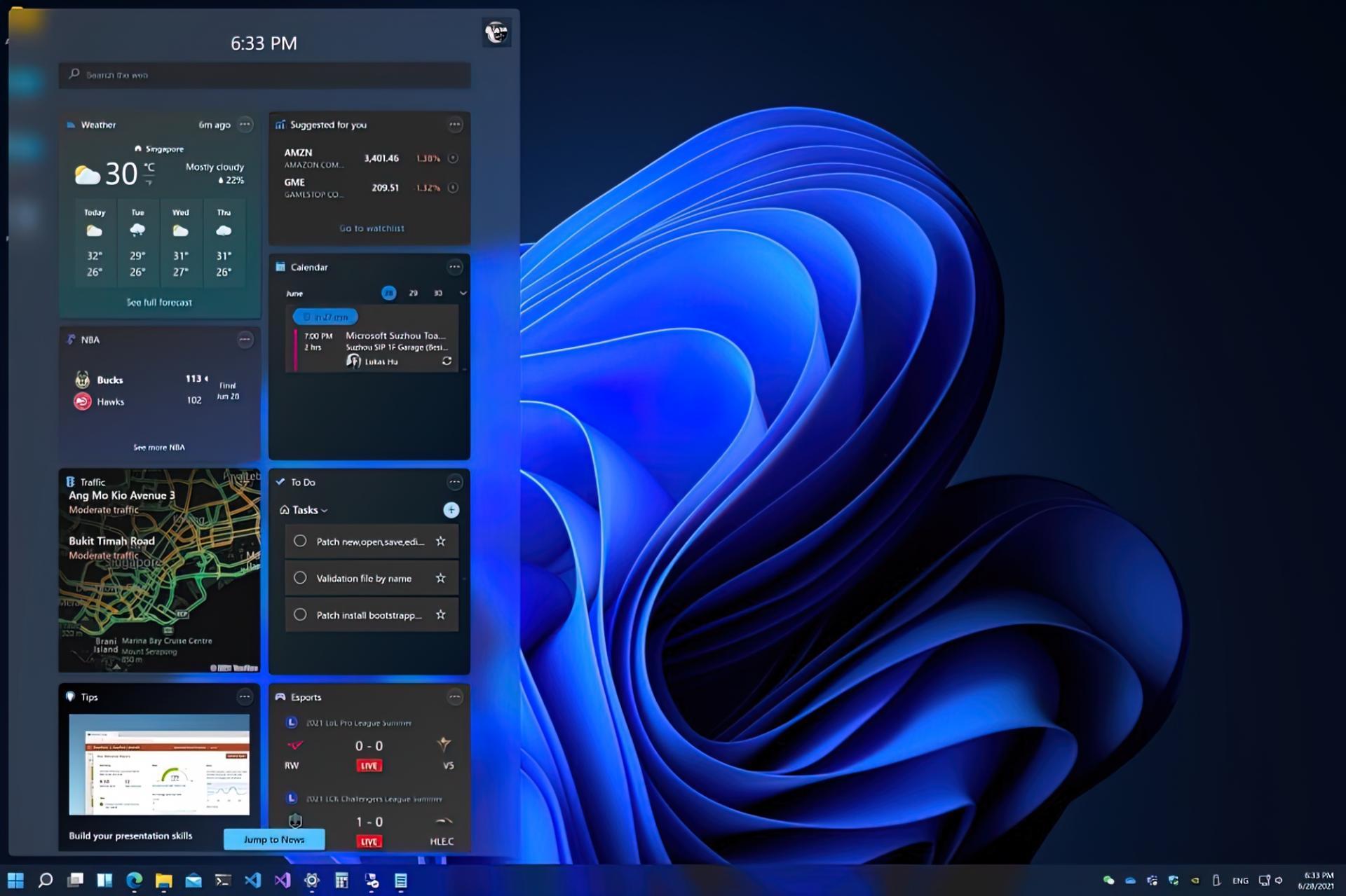 Windows 11 будет тёмной поумолчанию