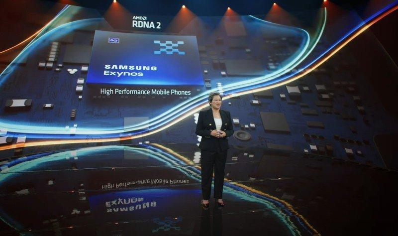 AMD обещает свою графику всмартфонах Samsung