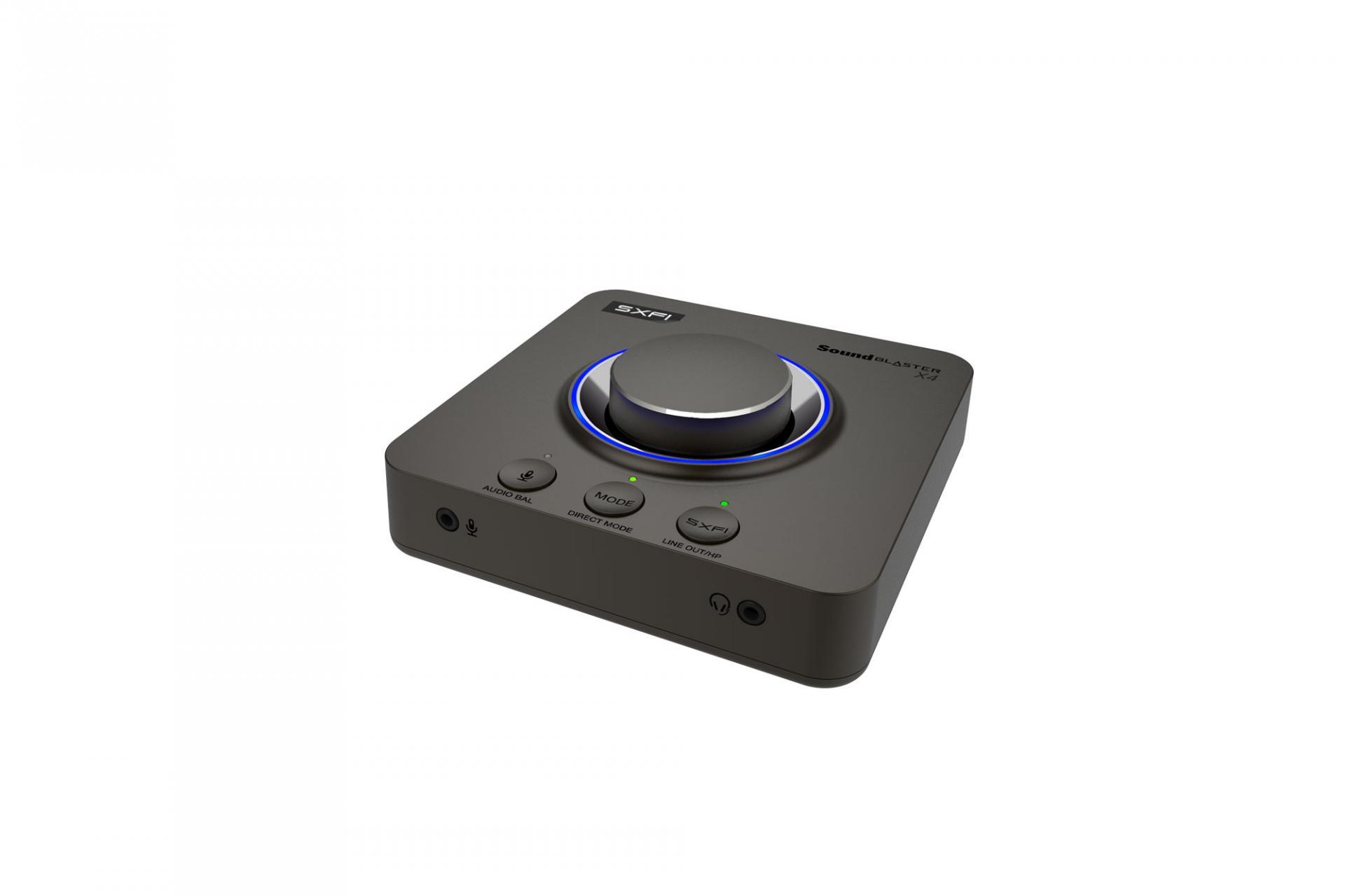 Creative анонсировала новую звуковую карту Sound Blaster X4