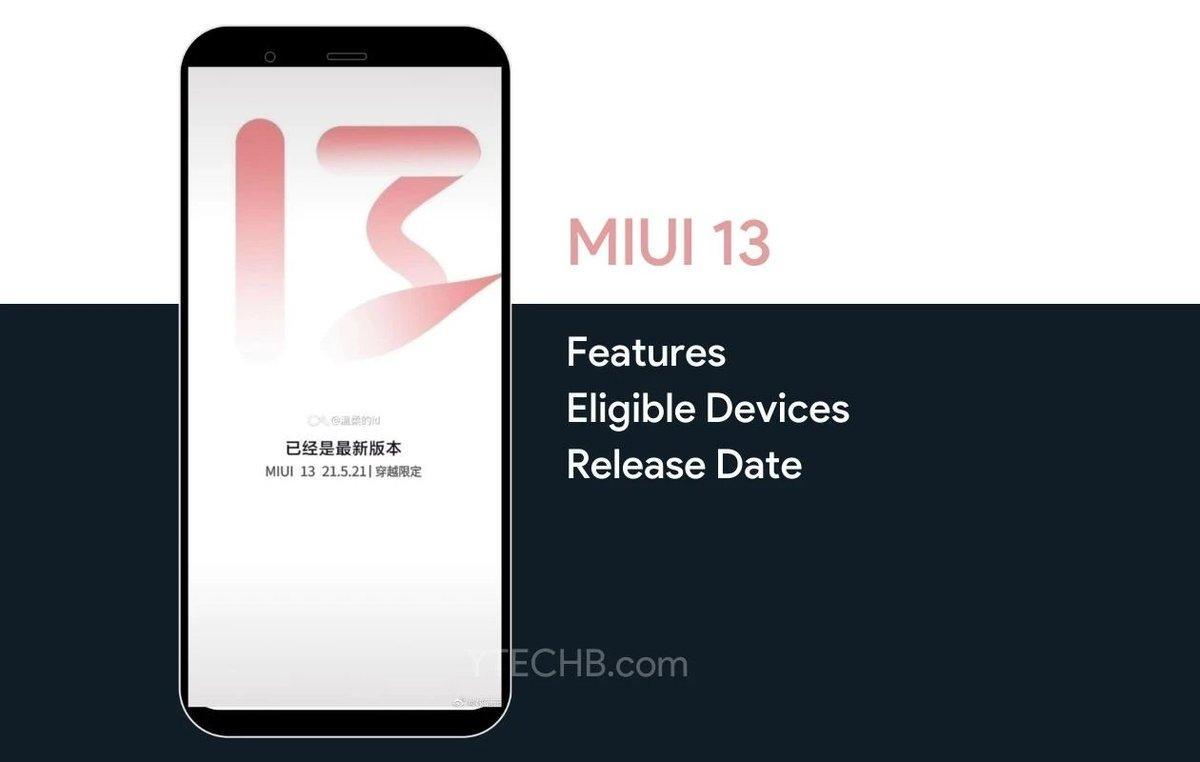 MIUI 13 раздадут на смартфоны возрастом до 2-х лет
