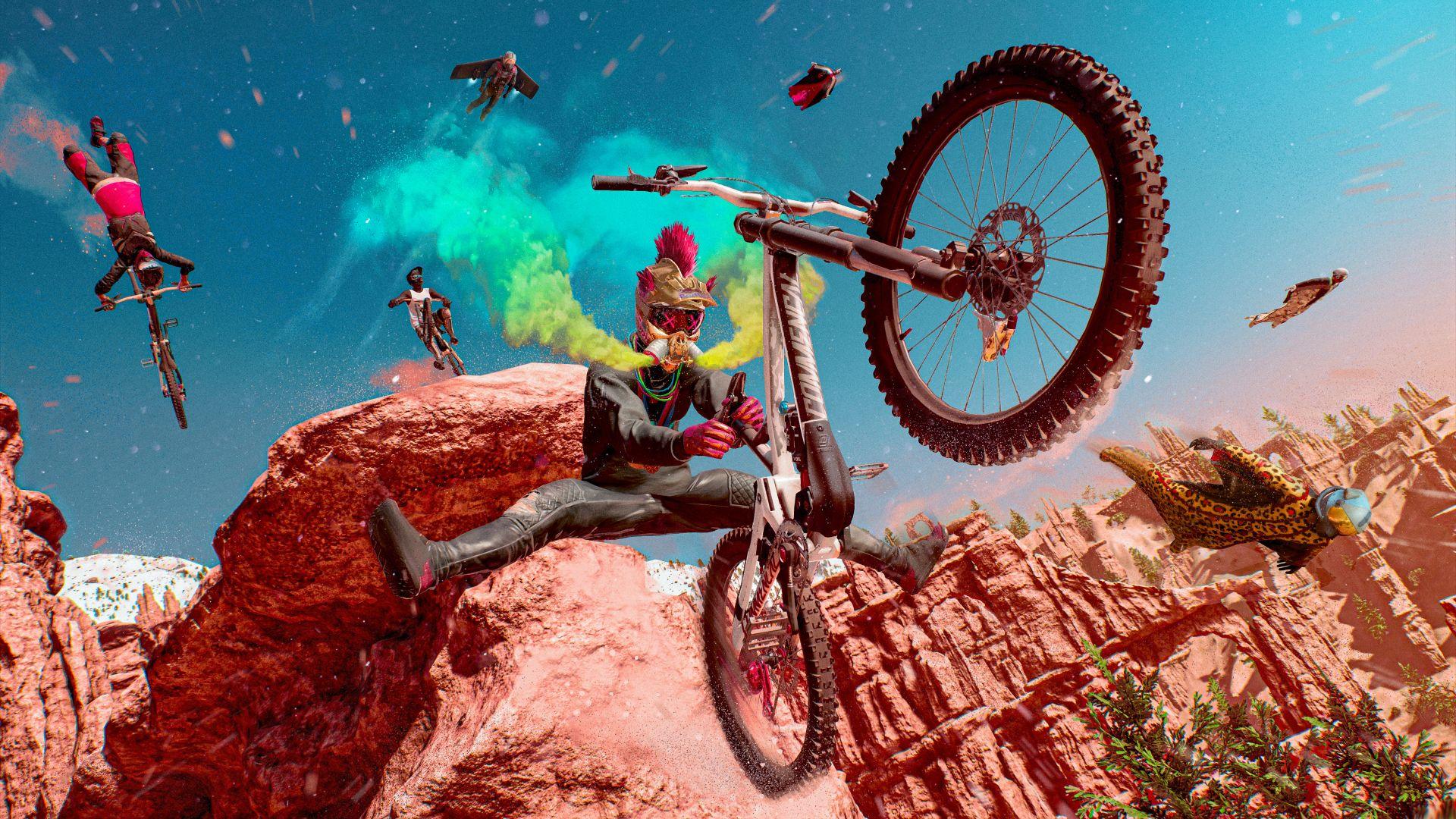 Трейлер геймплея и дата выхода Riders Republic  игры про экстремальные виды спорта от Ubisoft