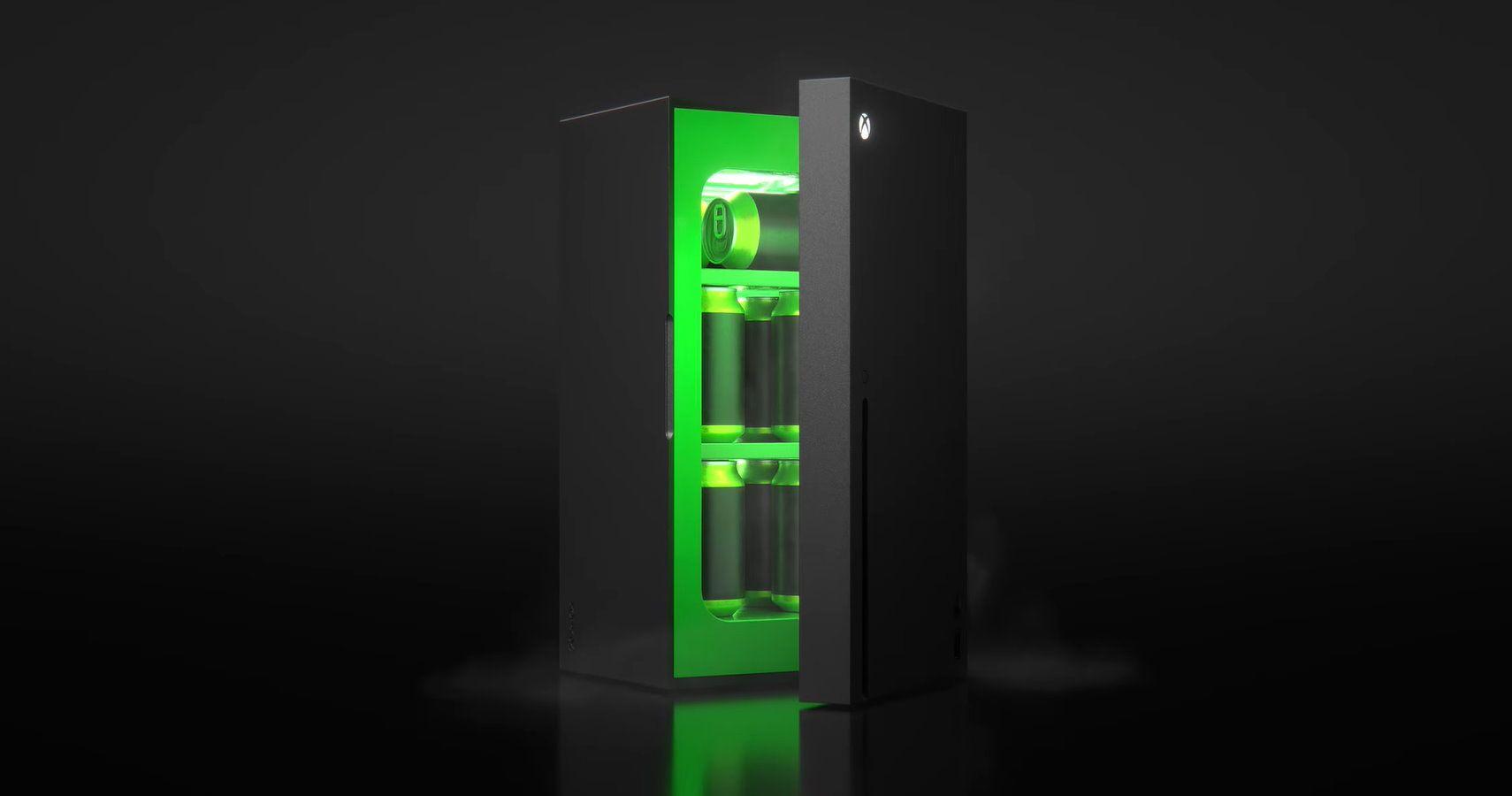 Xbox презентовала мини-холодильник. Трейлер новинки собрал 1,5 млн просмотров засутки