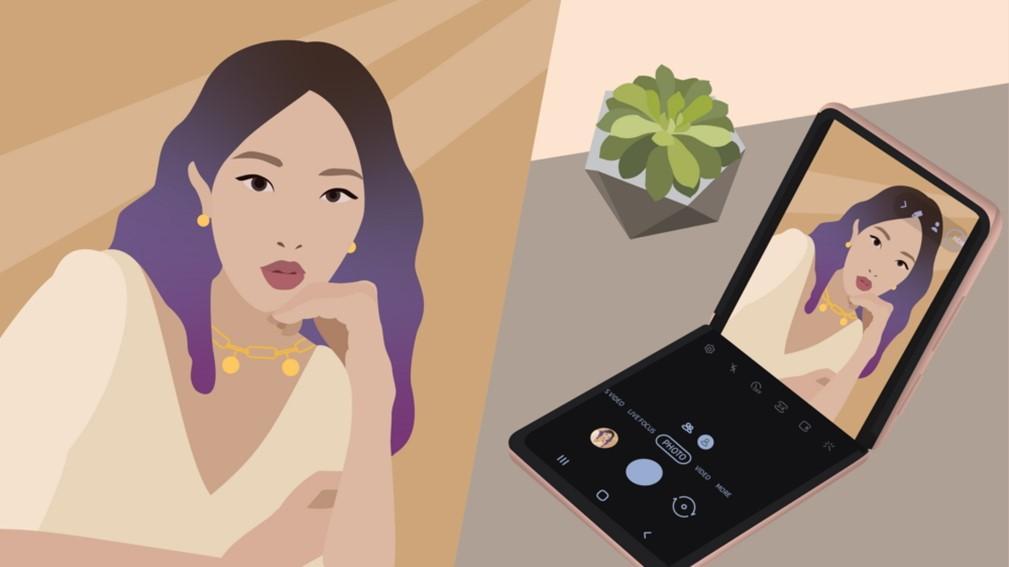 Зачто бизнесмены икреаторы любят складные смартфоны?